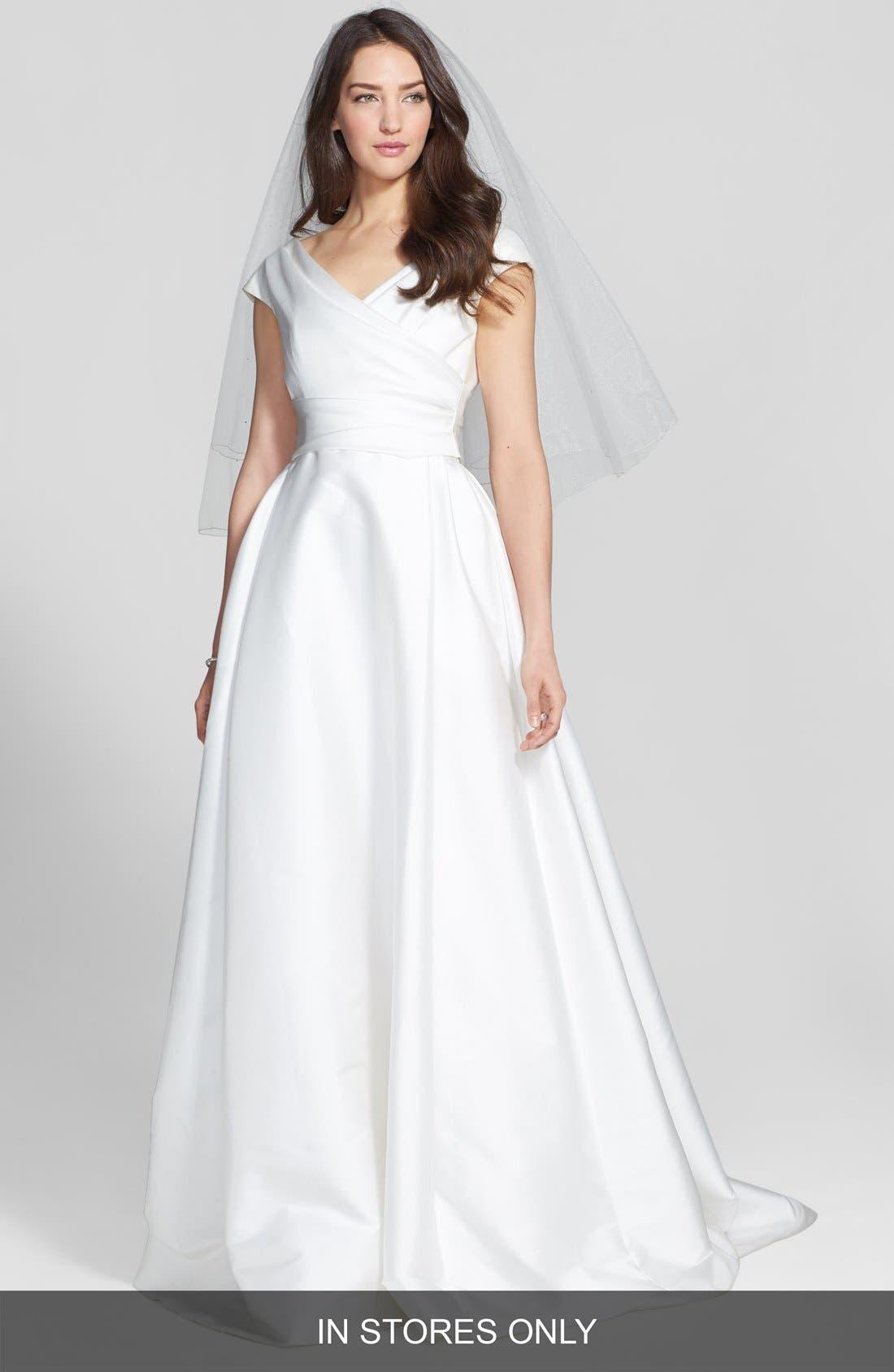 Jesús Peiró Taffeta Mikado A-Line Dress (In Stores Only)