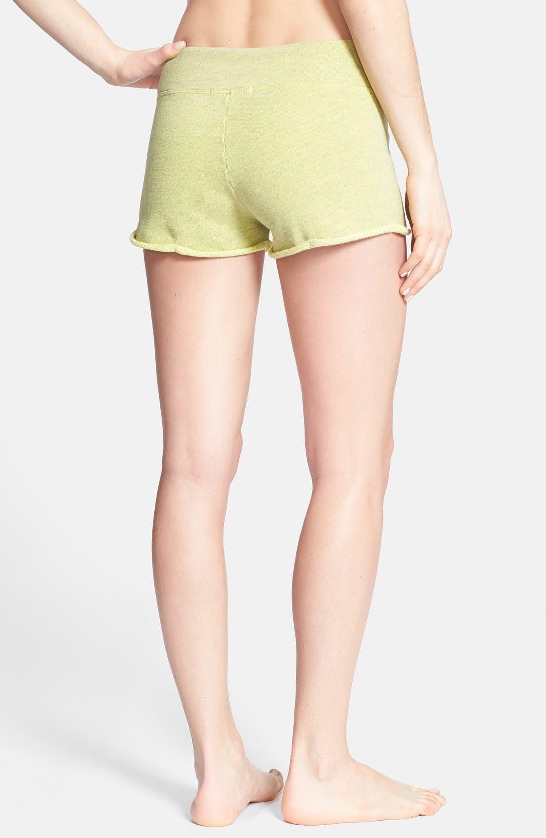 Alternate Image 2  - Solow Rolled Hem Shorts