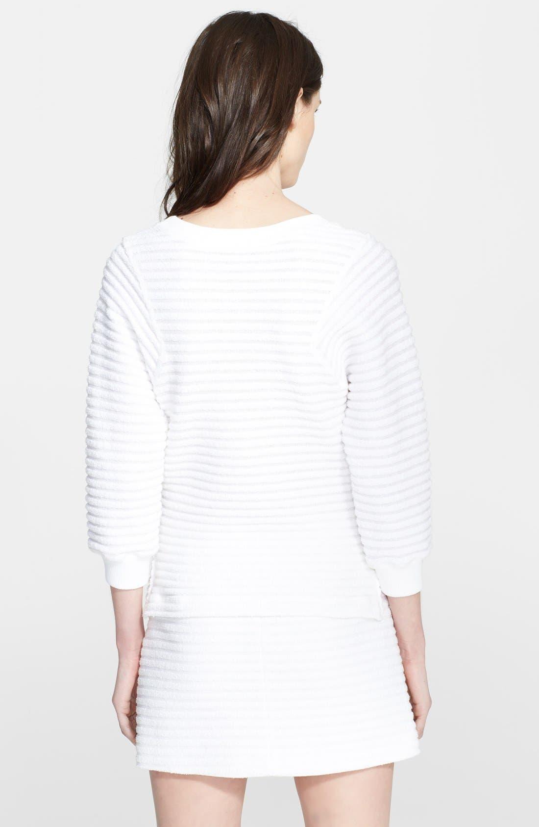 Alternate Image 2  - Theory 'Ebro' Cotton Blend Sweatshirt