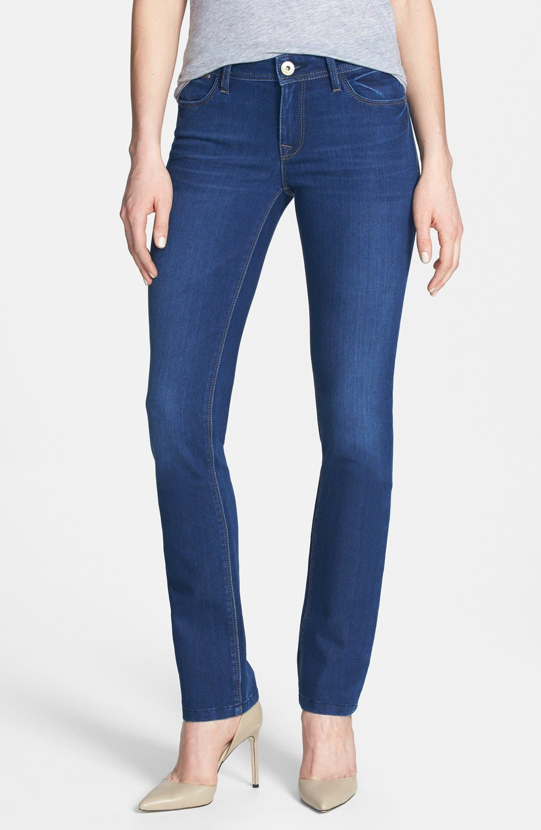 Alternate Image 1 Selected - DL1961 'Grace' Straight Jeans (Dyer)