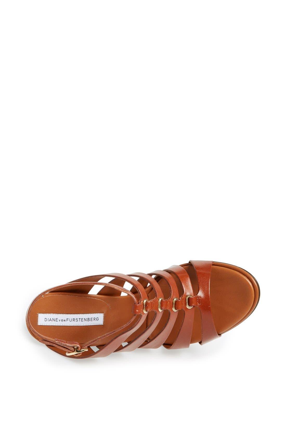 Alternate Image 3  - Diane von Furstenberg 'Wave' Wedge Sandal