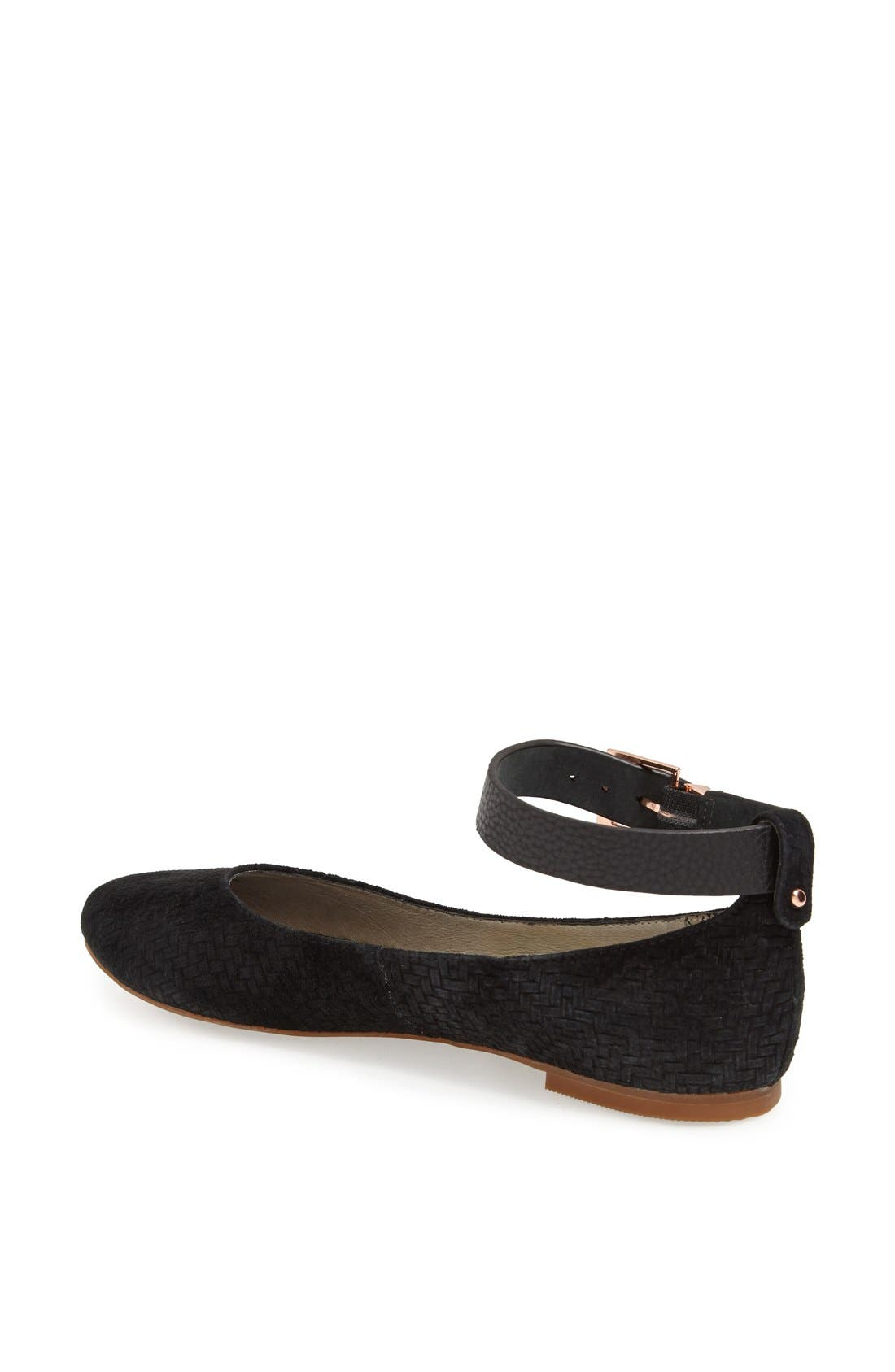 Alternate Image 2  - Matt Bernson 'Major' Ankle Strap Flat