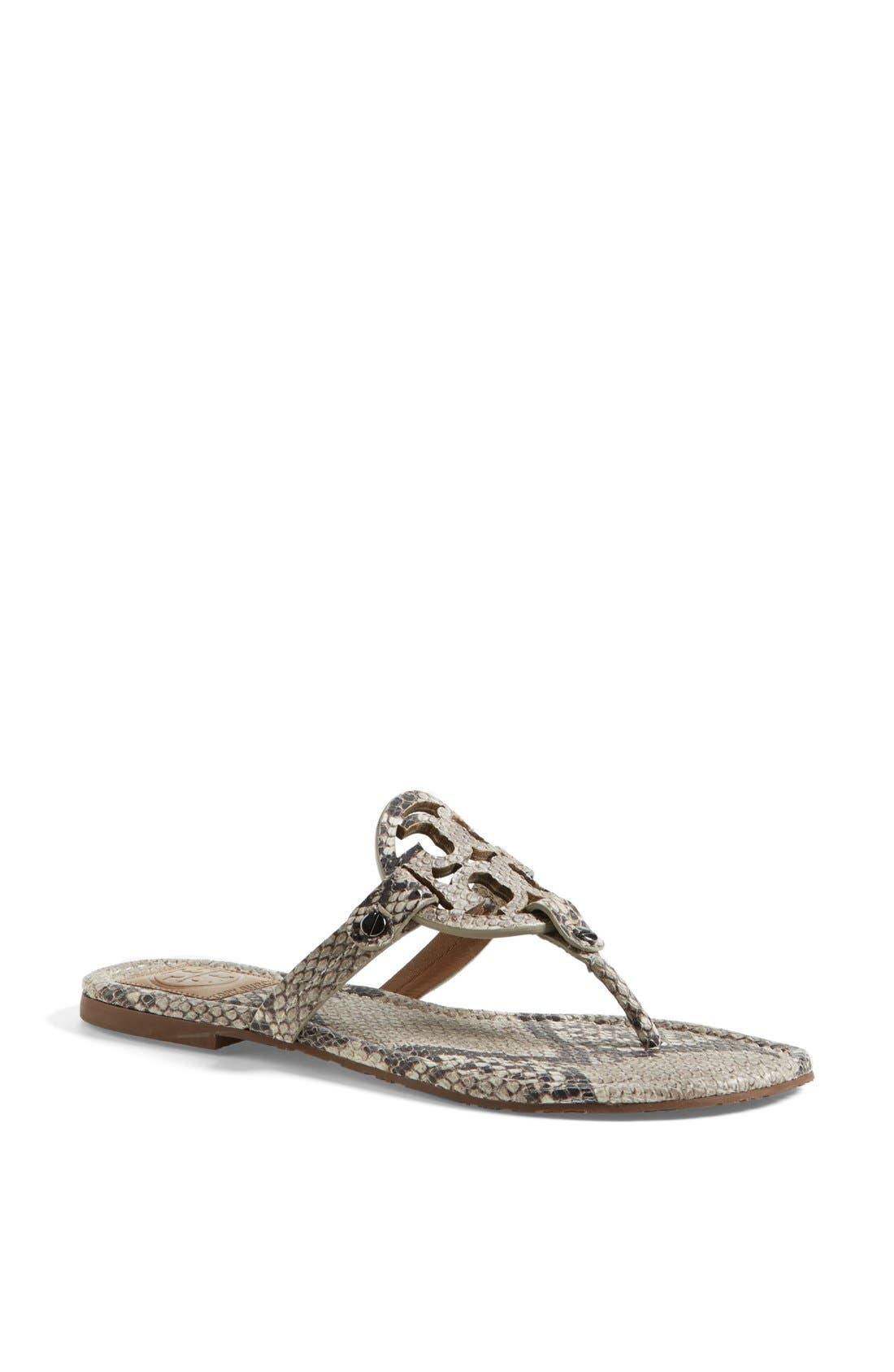 Alternate Image 1 Selected - Tory Burch 'Miller' Sandal