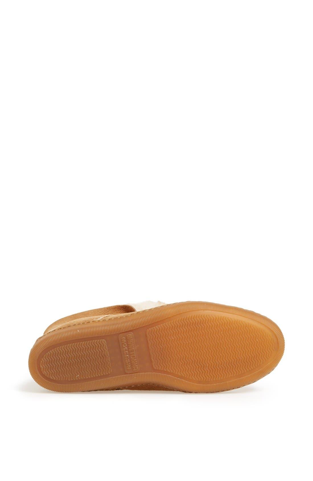Alternate Image 4  - Minnetonka Sheepskin Slipper Boot (Women)