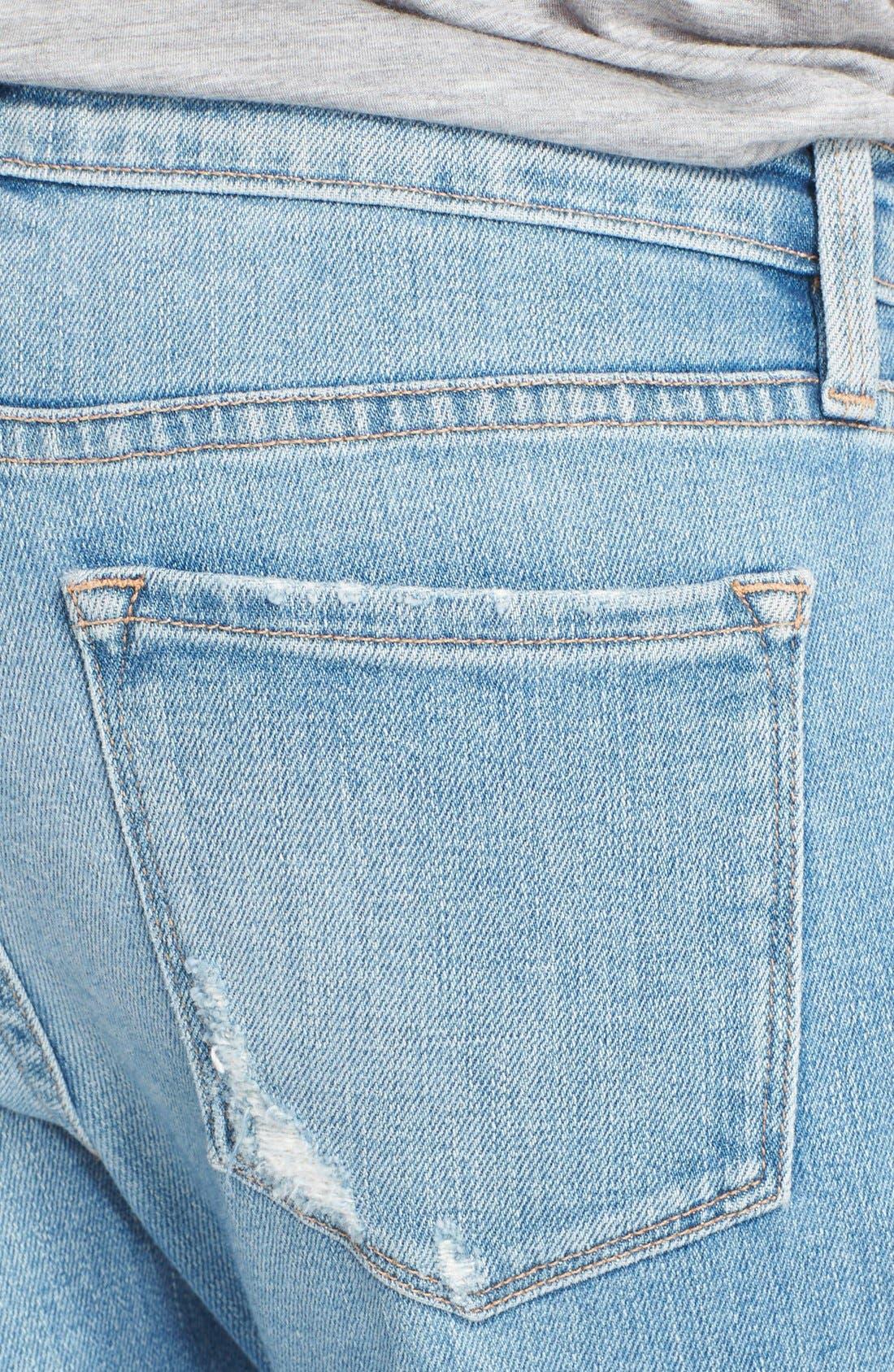 Alternate Image 3  - Frame Denim 'Le Garcon' Boyfriend Jeans (Beek Street)