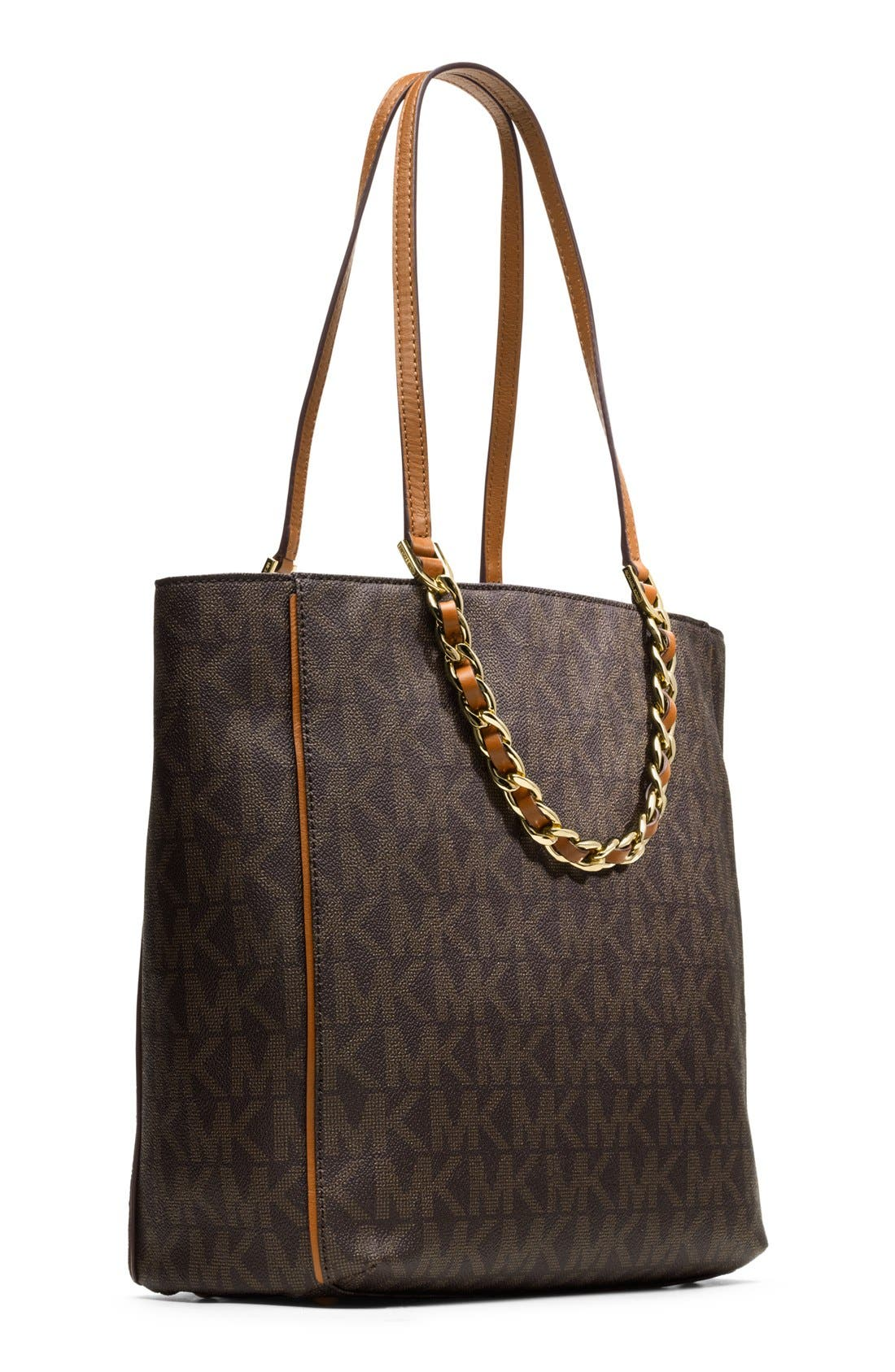 Alternate Image 4  - MICHAEL Michael Kors 'Large North/South' Leather Tote