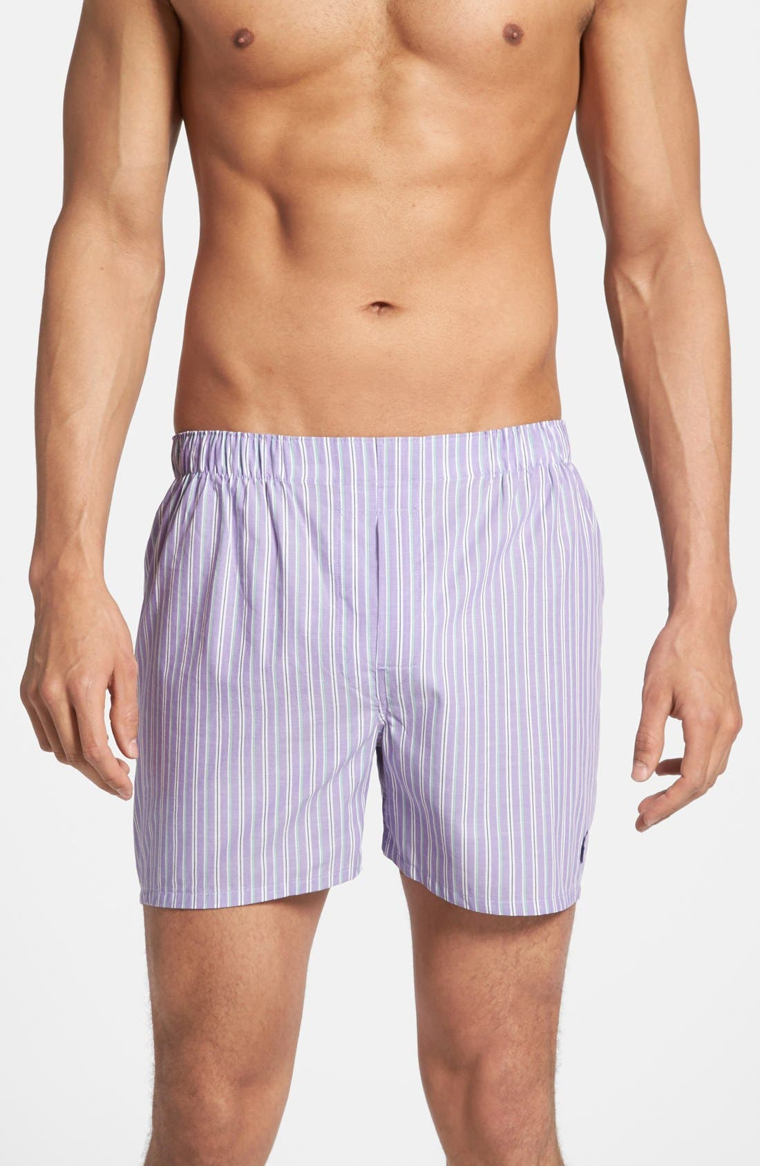 Alternate Image 4  - Polo Ralph Lauren Cotton Boxers (Assorted 3-Pack)