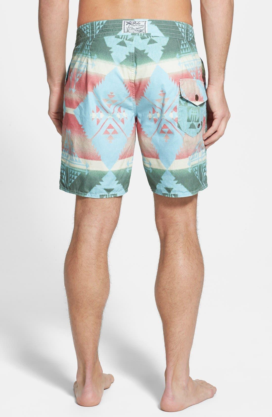 Alternate Image 2  - Polo Ralph Lauren 'Palm Island' Swim Trunks