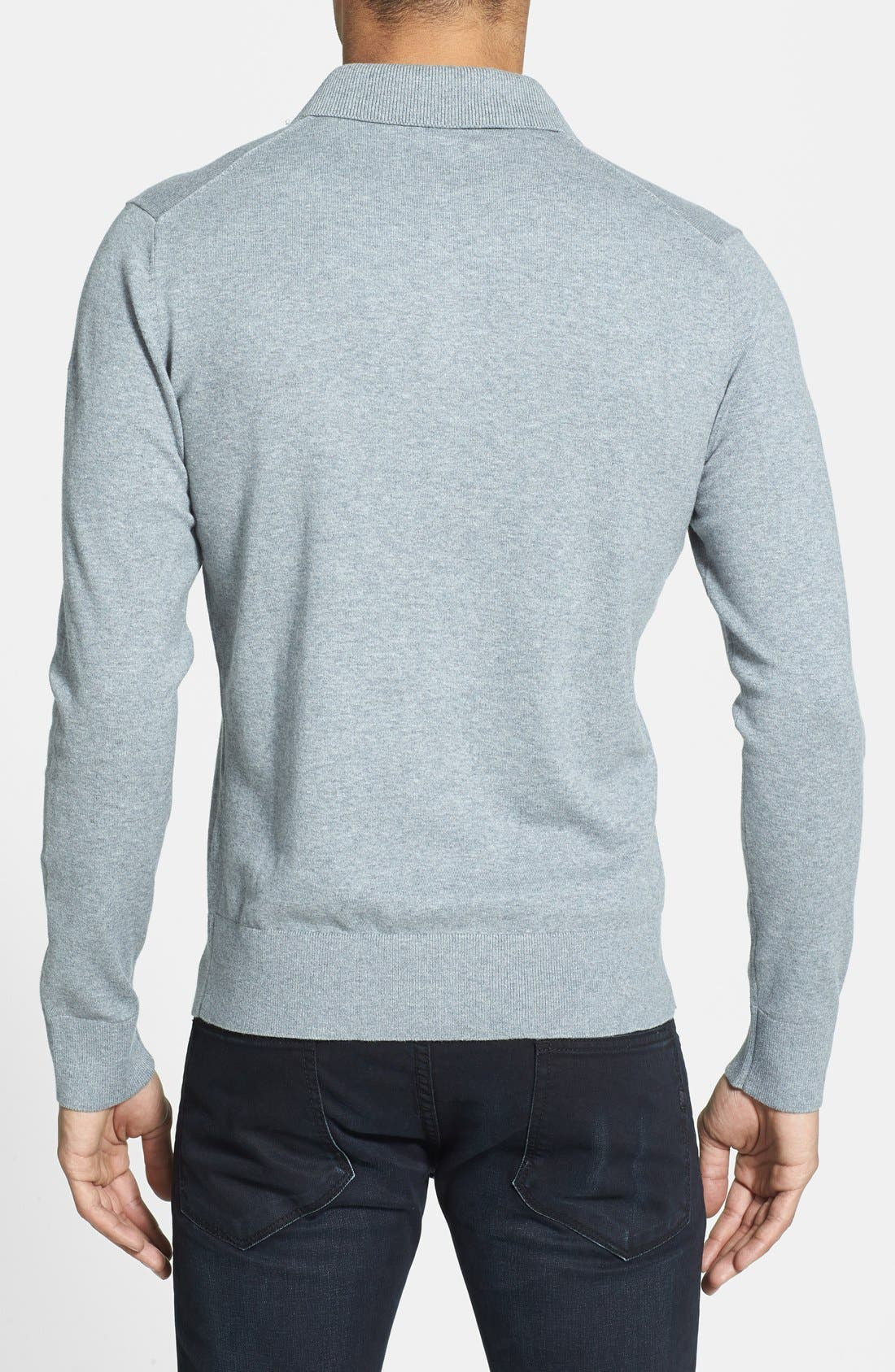 Alternate Image 2  - Victorinox Swiss Army® 'Roche' Tailored Fit Stretch Polo Sweater