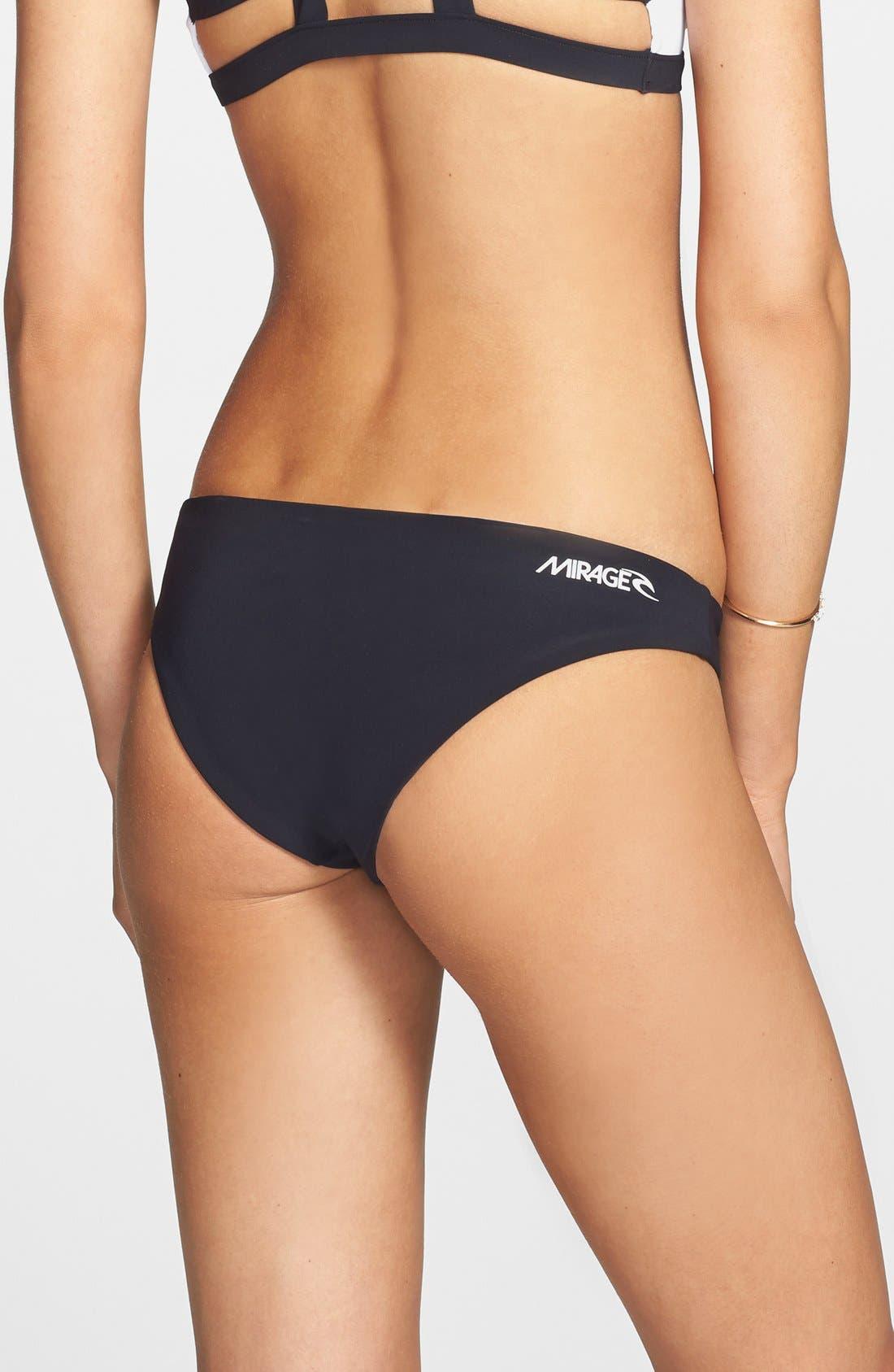 Main Image - Rip Curl 'Mirage' Reversible Hipster Bikini Bottoms (Juniors)