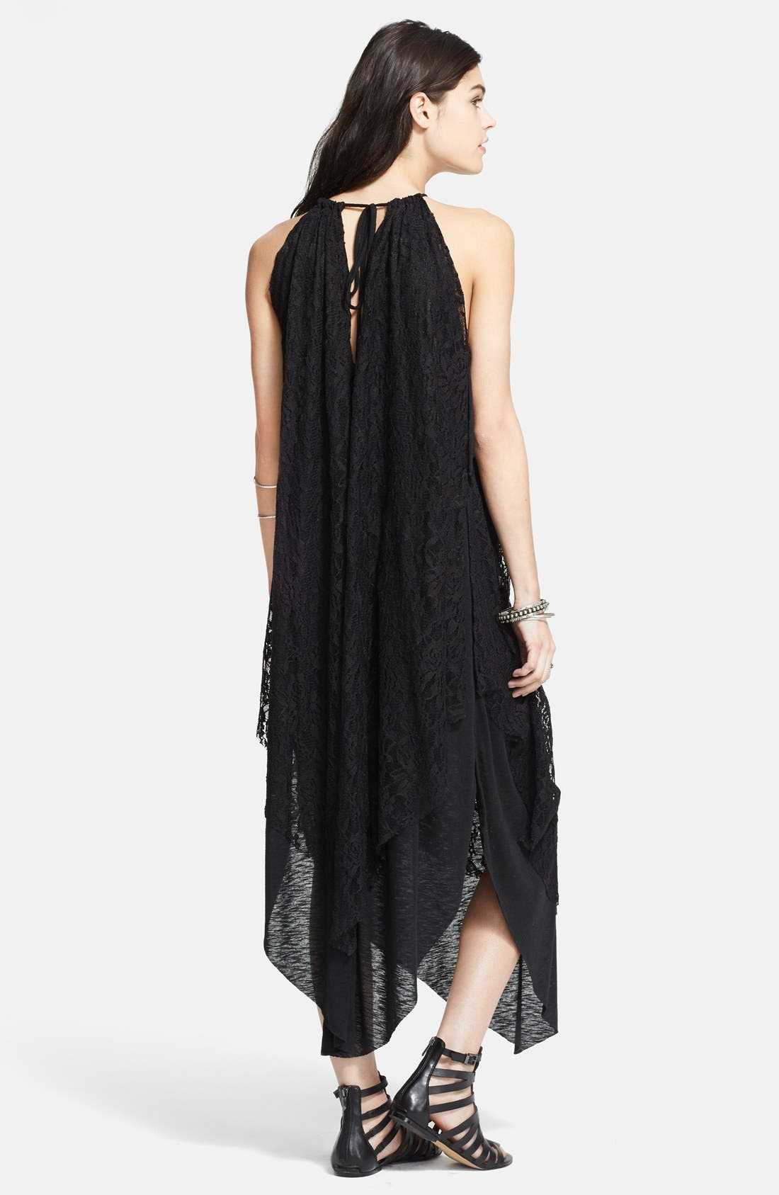 Alternate Image 2  - Free People 'Olympia' Lace Overlay Maxi Dress