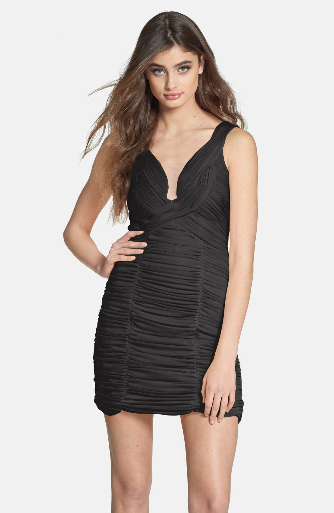 Main Image - Hailey by Adrianna Papell Ruched Body-Con Dress