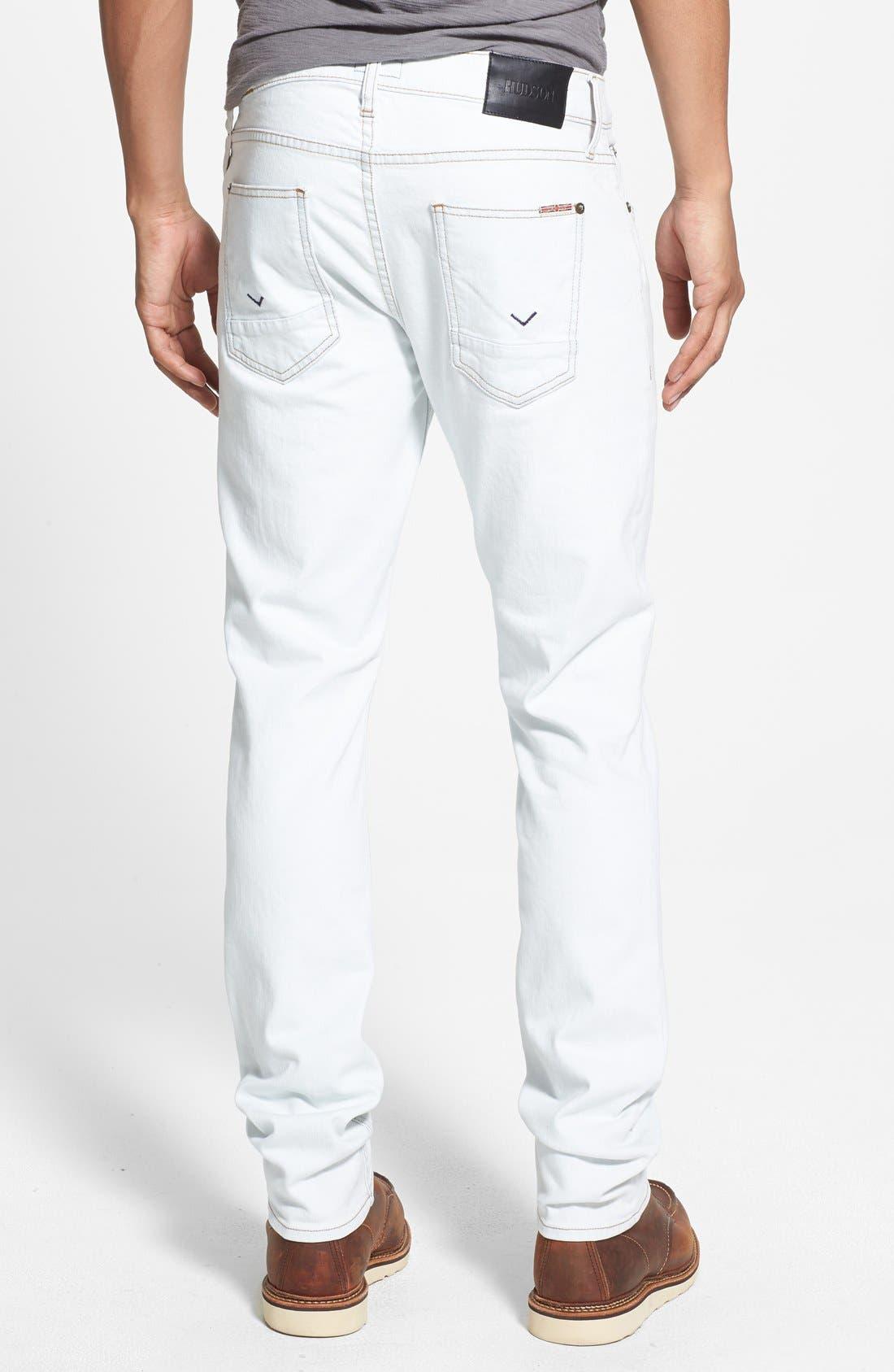 Alternate Image 2  - Hudson Jeans 'Sartor' Slouchy Skinny Fit Jeans (Flashback)