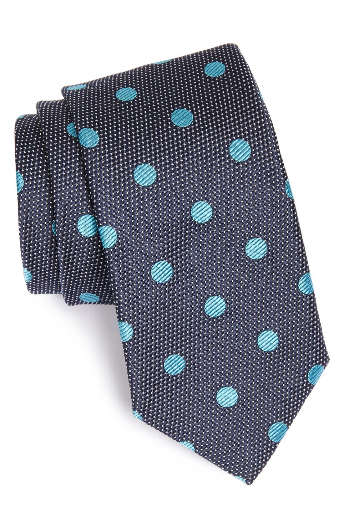 Alternate Image 1 Selected - Samuelsohn Woven Silk Tie