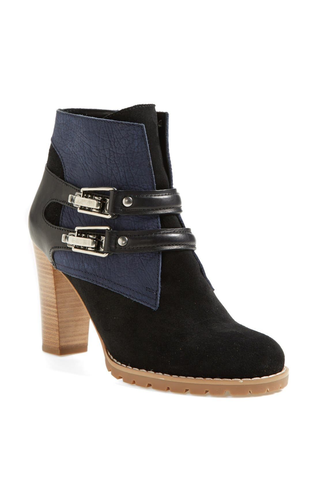 Alternate Image 1 Selected - See by Chloé 'Katia' Suede & Leather Bootie