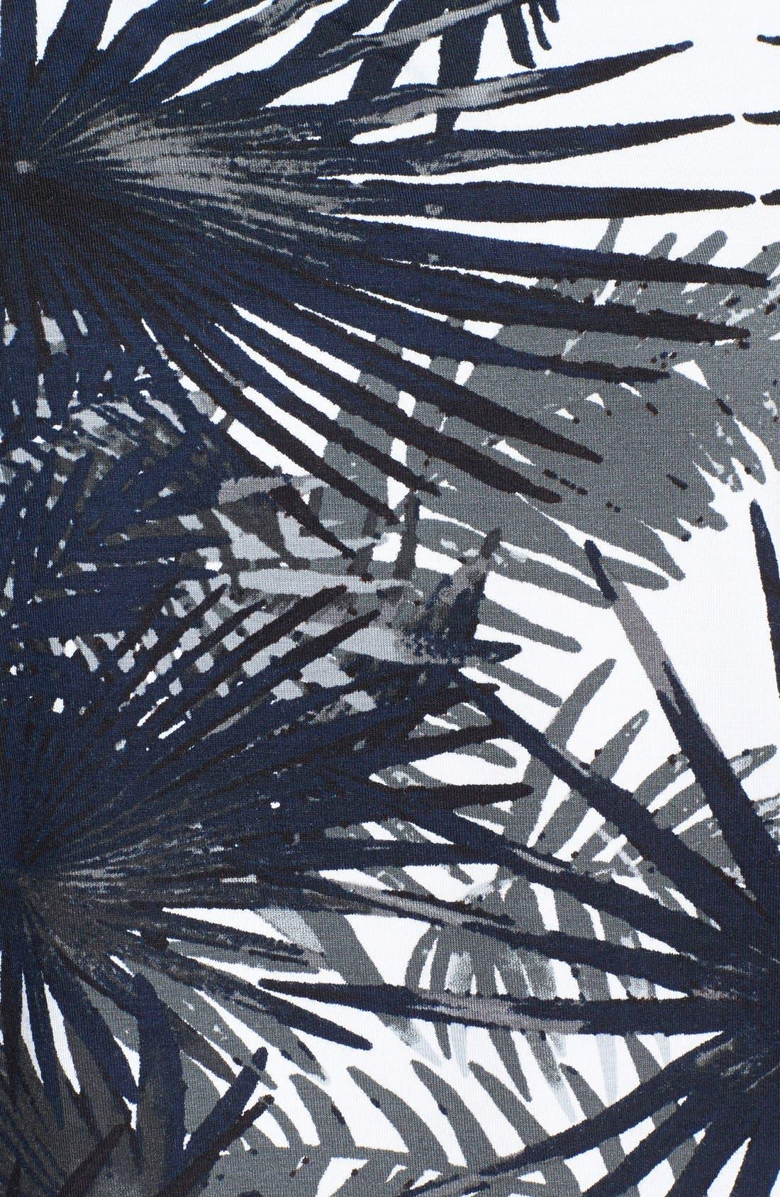 Alternate Image 3  - Bailey 44 'Tidal Wave' Palm Print Crop Top