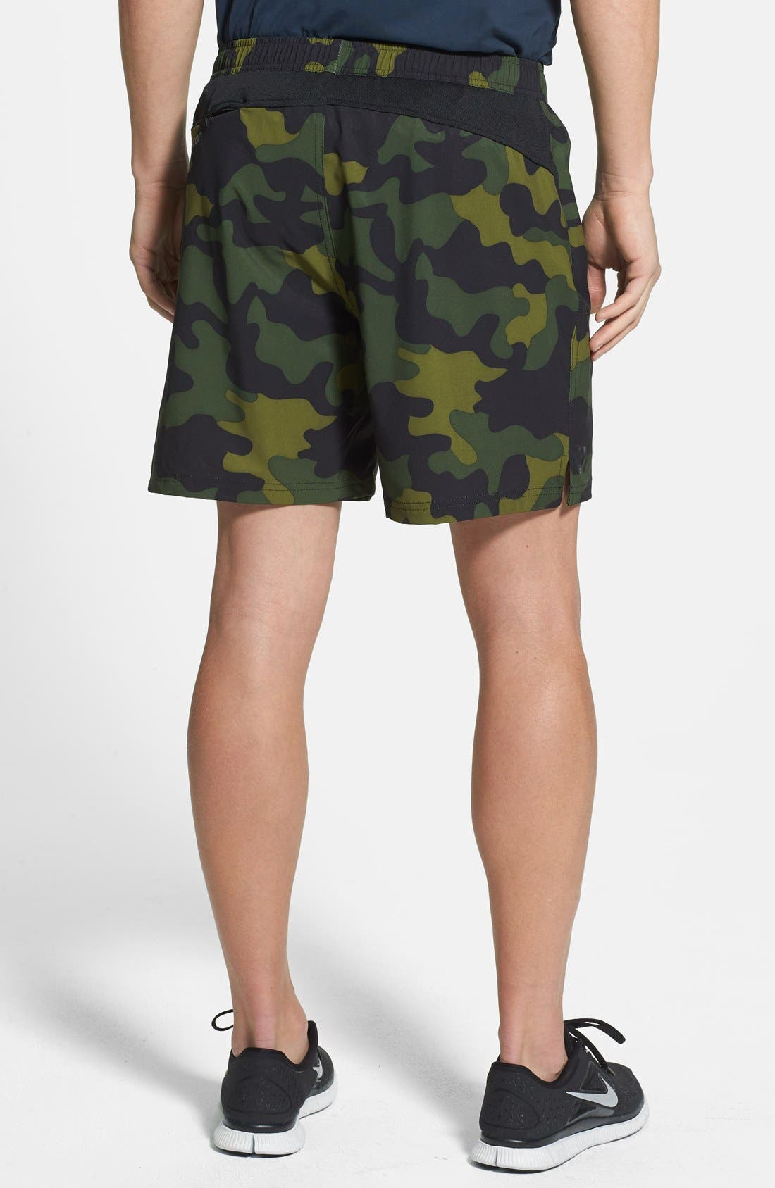 Alternate Image 2  - Athletic Recon 'Black Ops' Stretch Woven Running Shorts