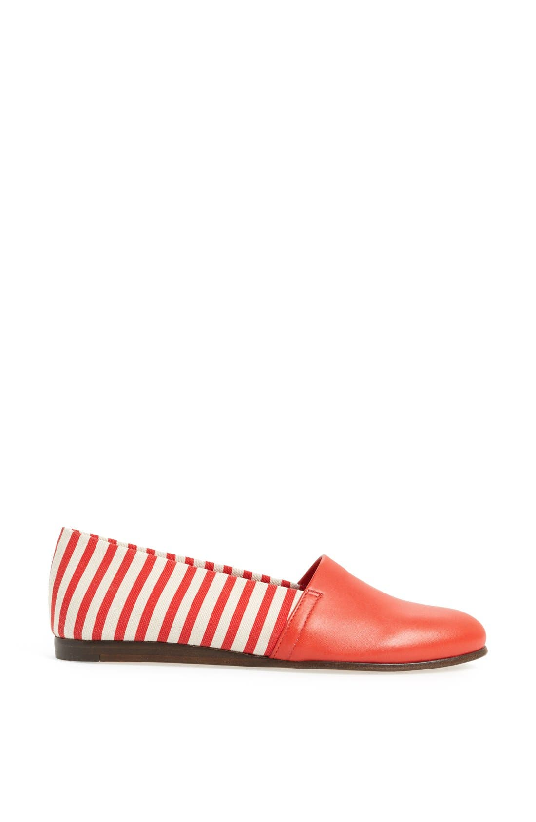 Alternate Image 4  - CB Made in Italy Stripe Flat Slip-On