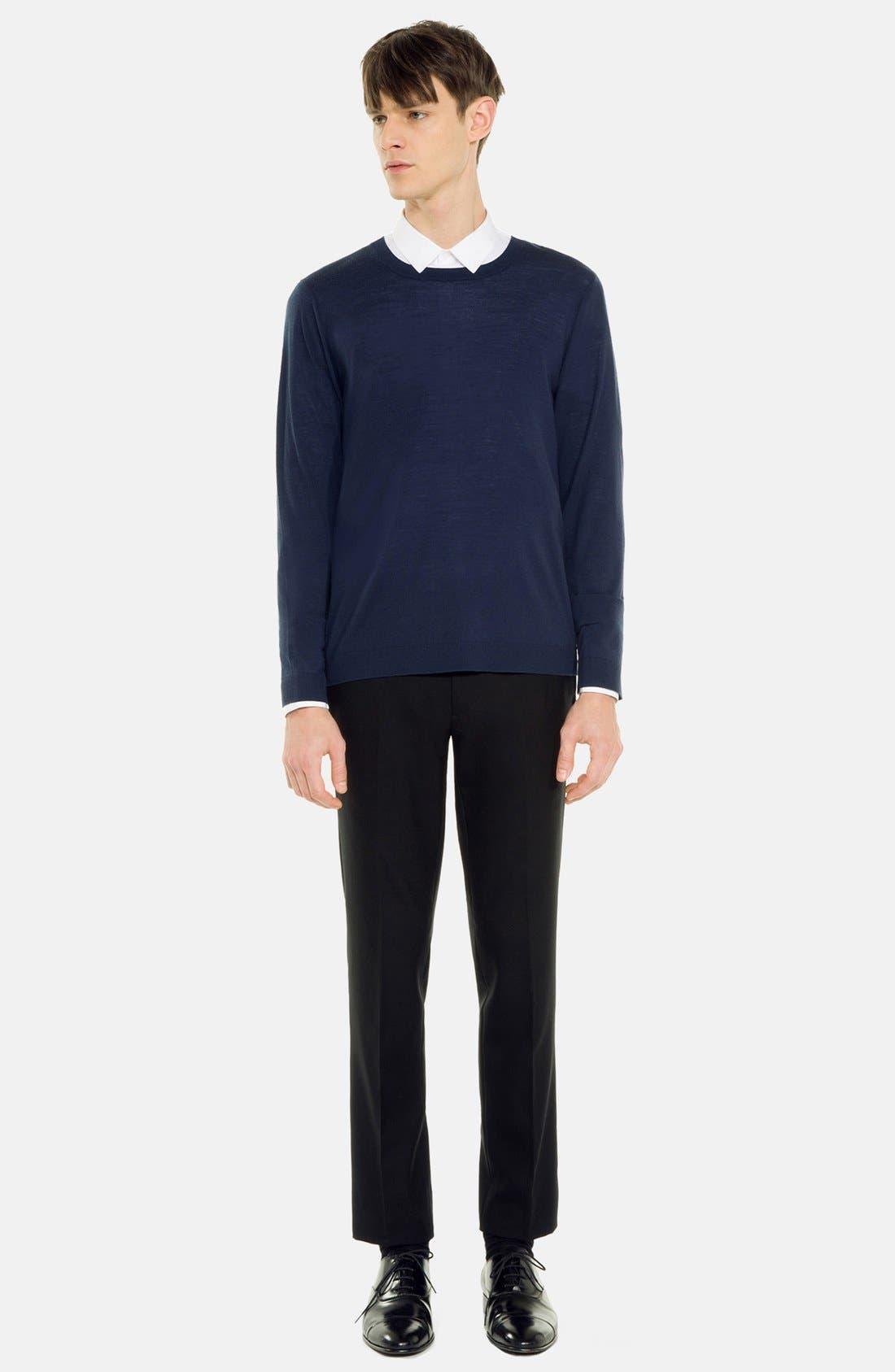 Alternate Image 1 Selected - sandro 'Birdy' Merino Wool Sweater