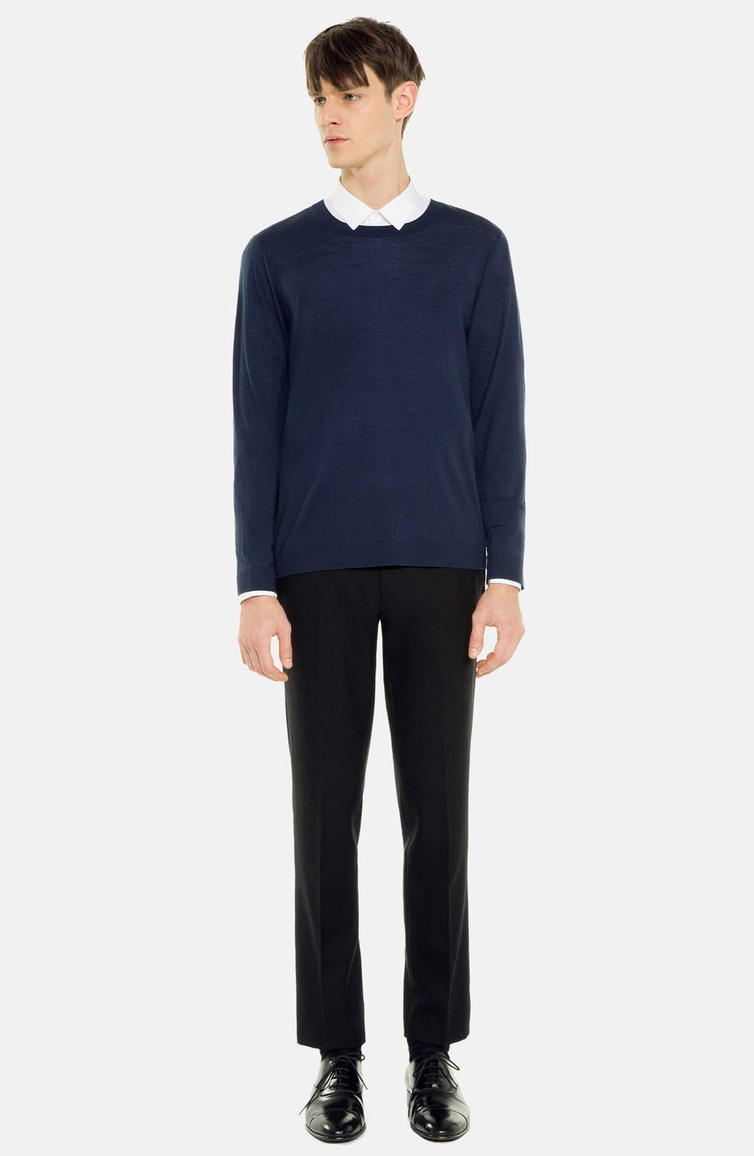 Main Image - sandro 'Birdy' Merino Wool Sweater