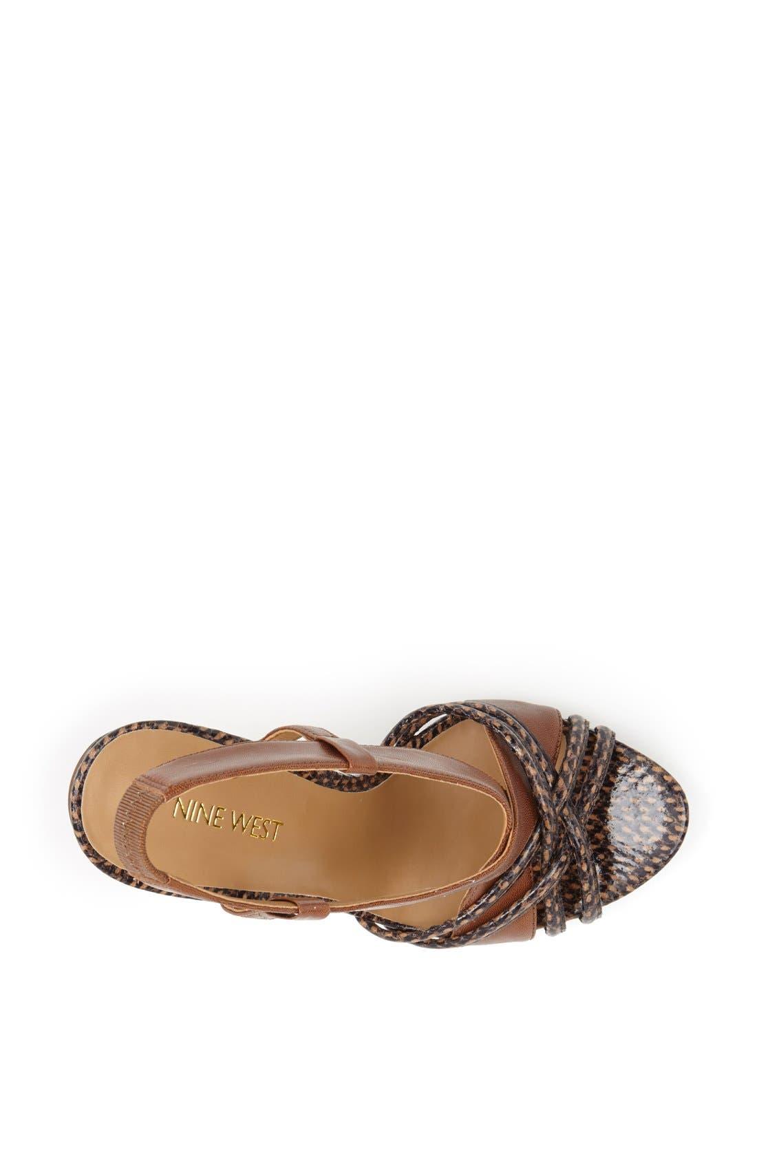 Alternate Image 3  - Nine West 'Allysse' Leather Sandal