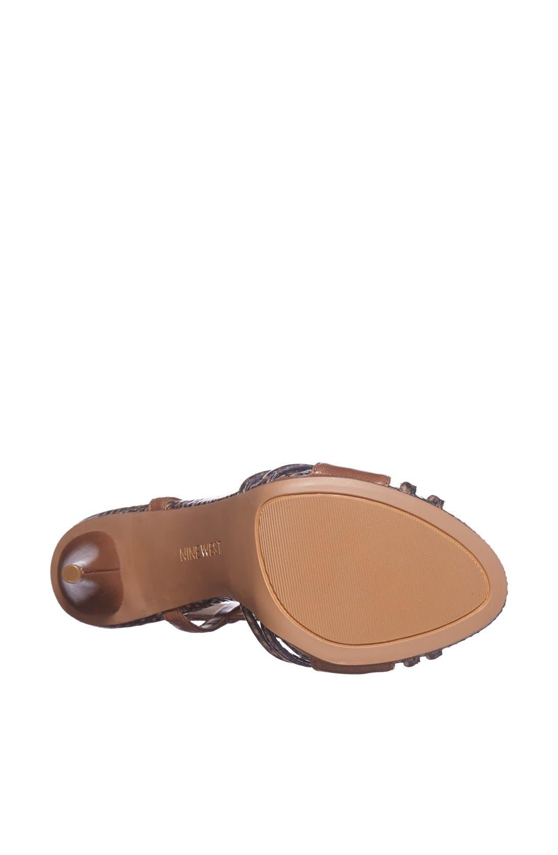 Alternate Image 4  - Nine West 'Allysse' Leather Sandal