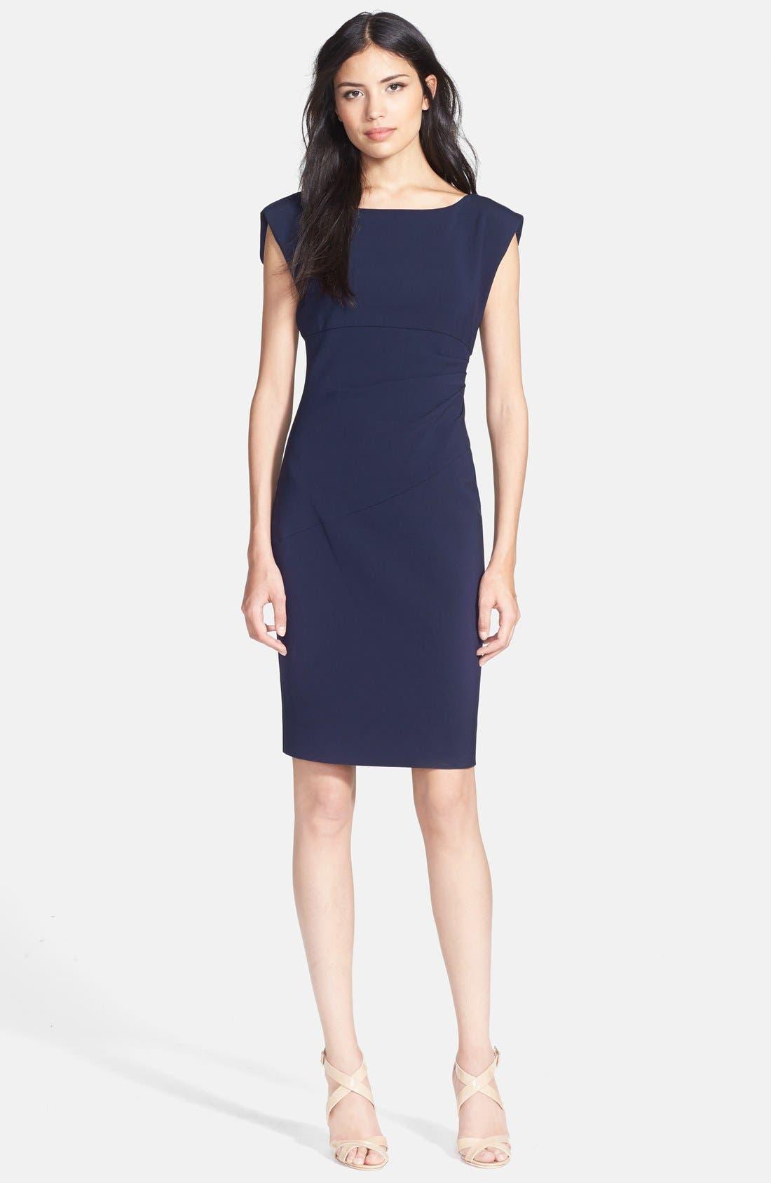Alternate Image 1 Selected - Diane von Furstenberg 'Jori' Ruched Sheath Dress