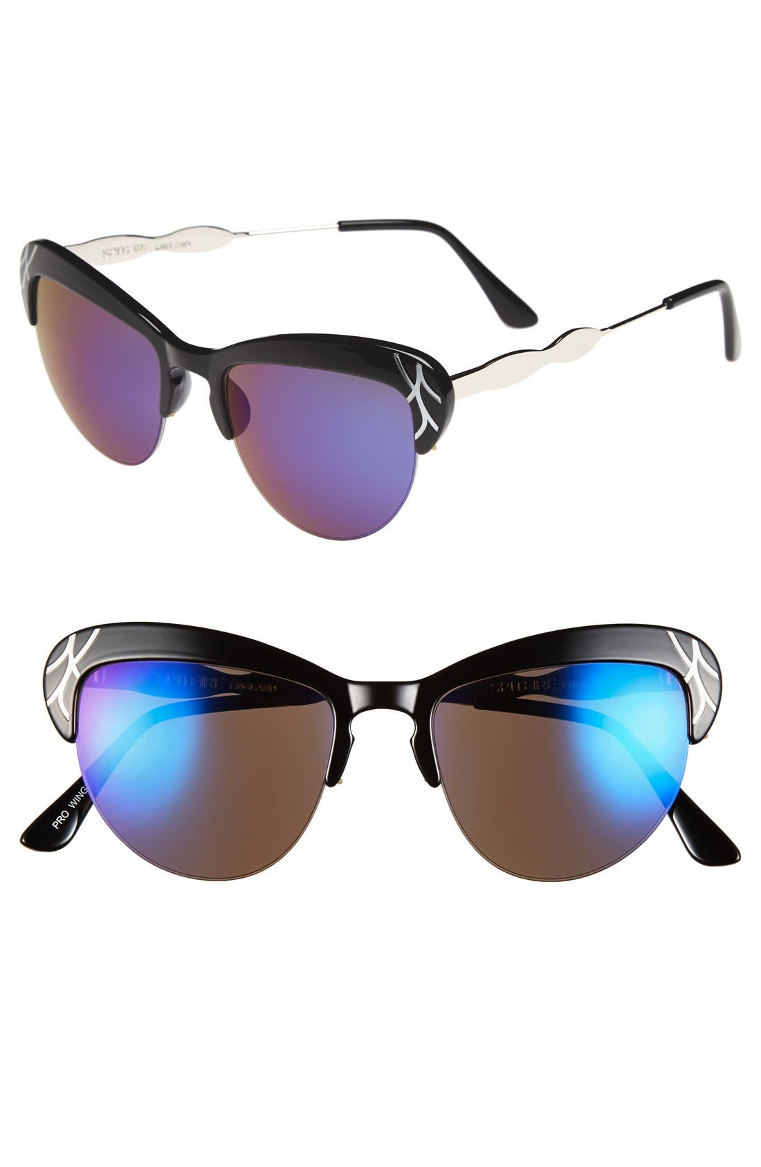 Alternate Image 1 Selected - Spitfire 53mm Metal Inlay Sunglasses