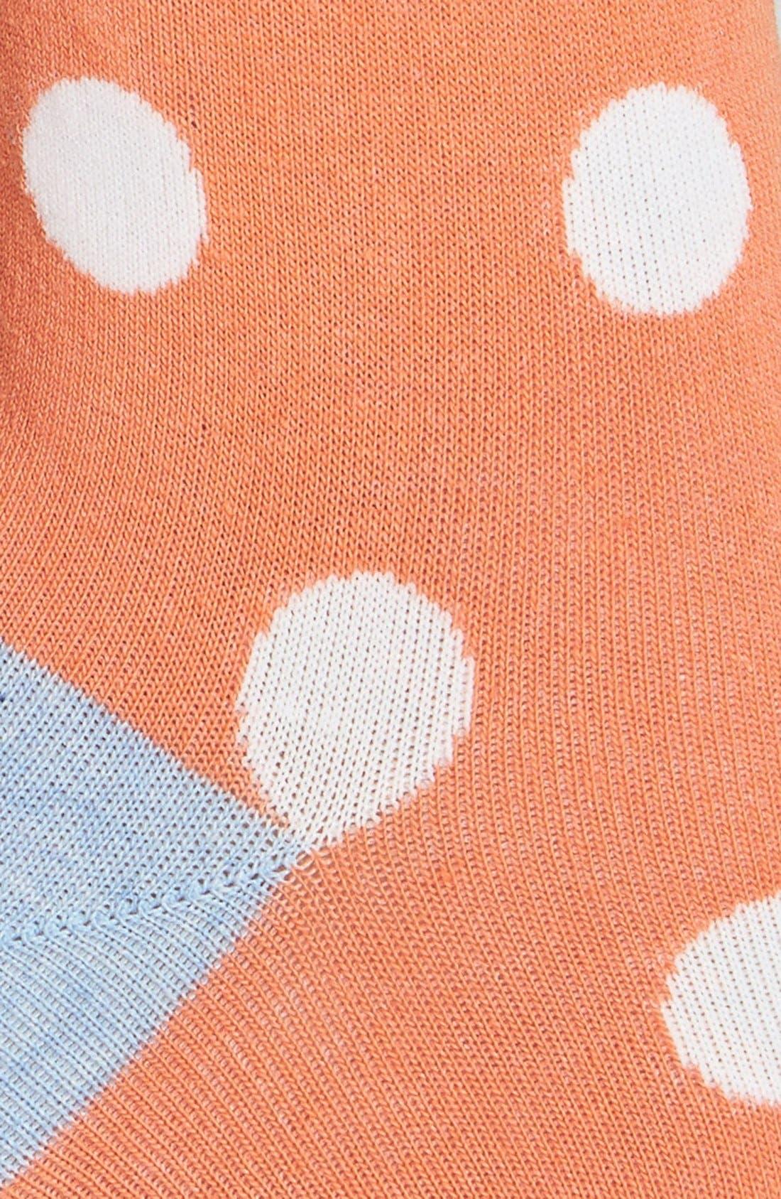 Alternate Image 2  - Hot Sox 'Large Dot' Crew Socks