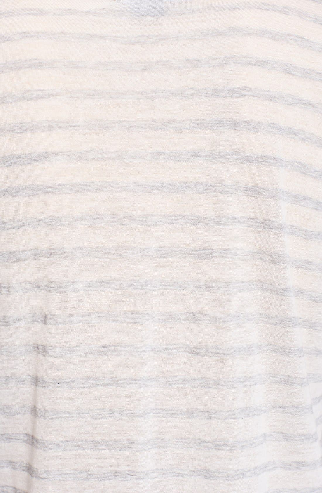 Alternate Image 3  - Vince Stripe Long Sleeve Tee
