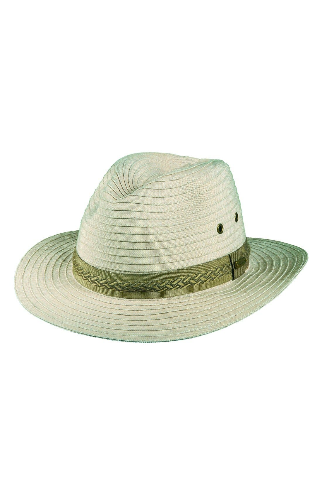 Alternate Image 1 Selected - Stetson Packable Safari Hat