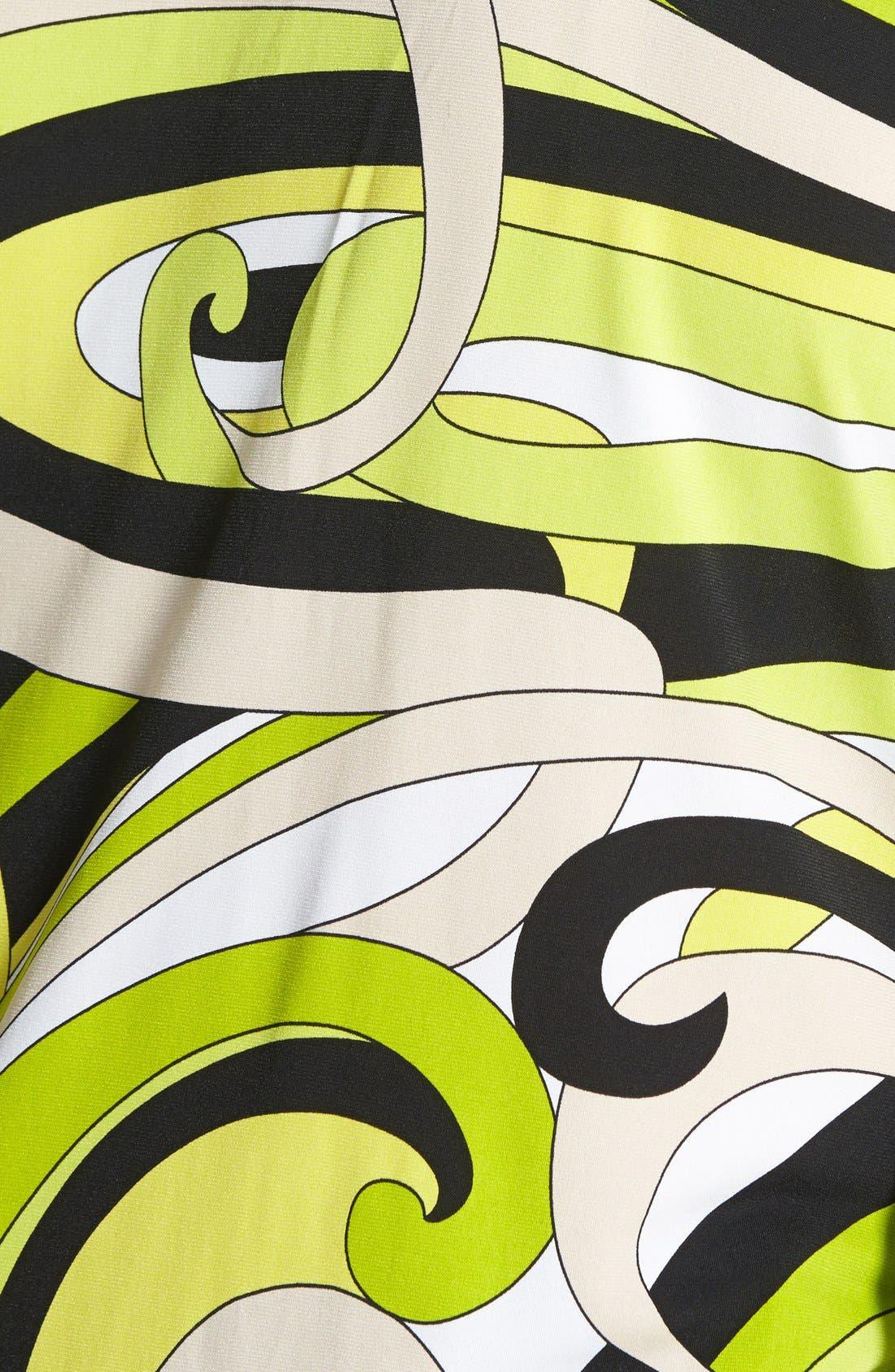Alternate Image 3  - MICHAEL Michael Kors Print Lace-Up Tunic (Plus Size)