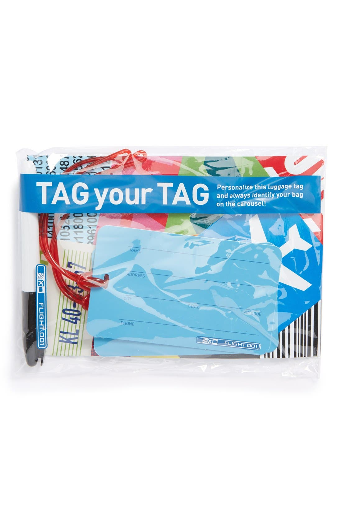 Alternate Image 3  - Flight 001 'Tag Your Tag' Luggage Tags (Set of 2)