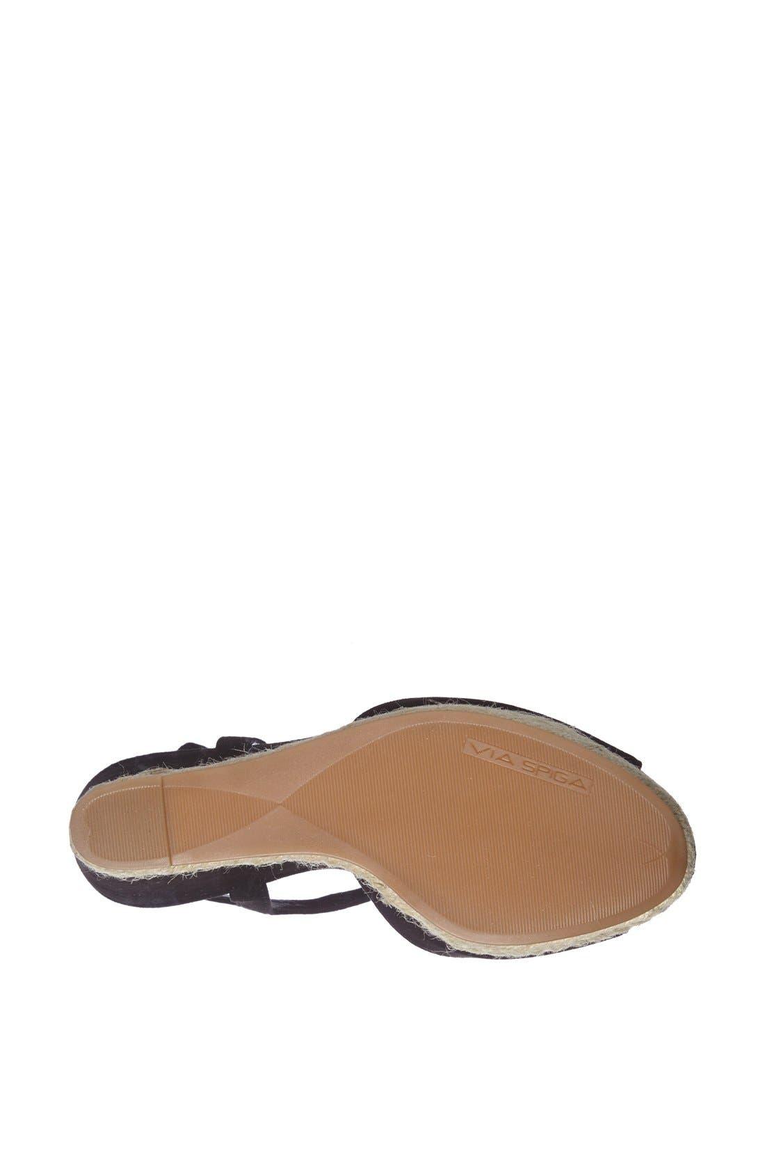 Alternate Image 4  - Via Spiga 'Melia' Wedge Sandal