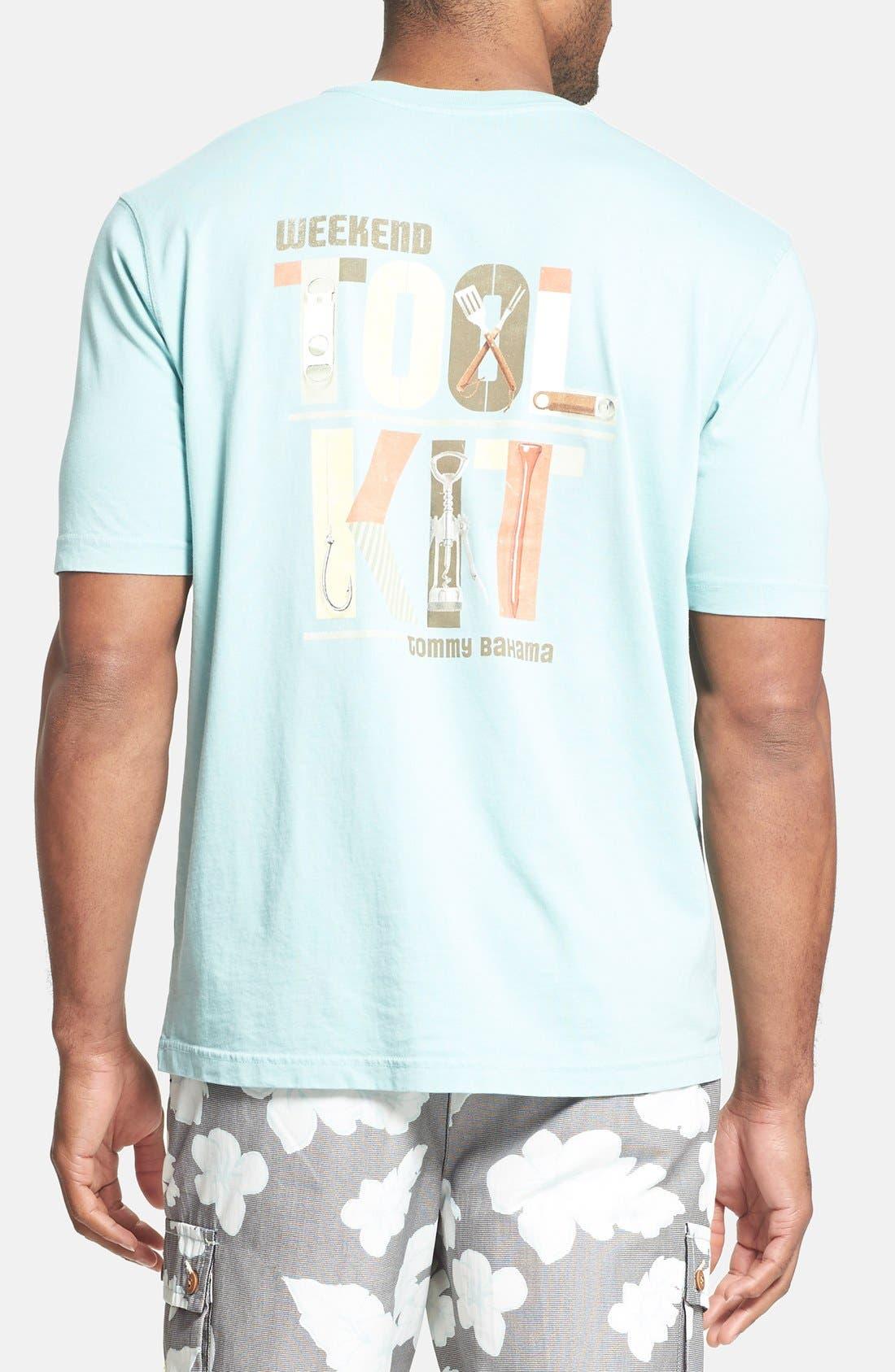 Alternate Image 2  - Tommy Bahama 'Weekend Tool Kit' Regular Fit T-Shirt