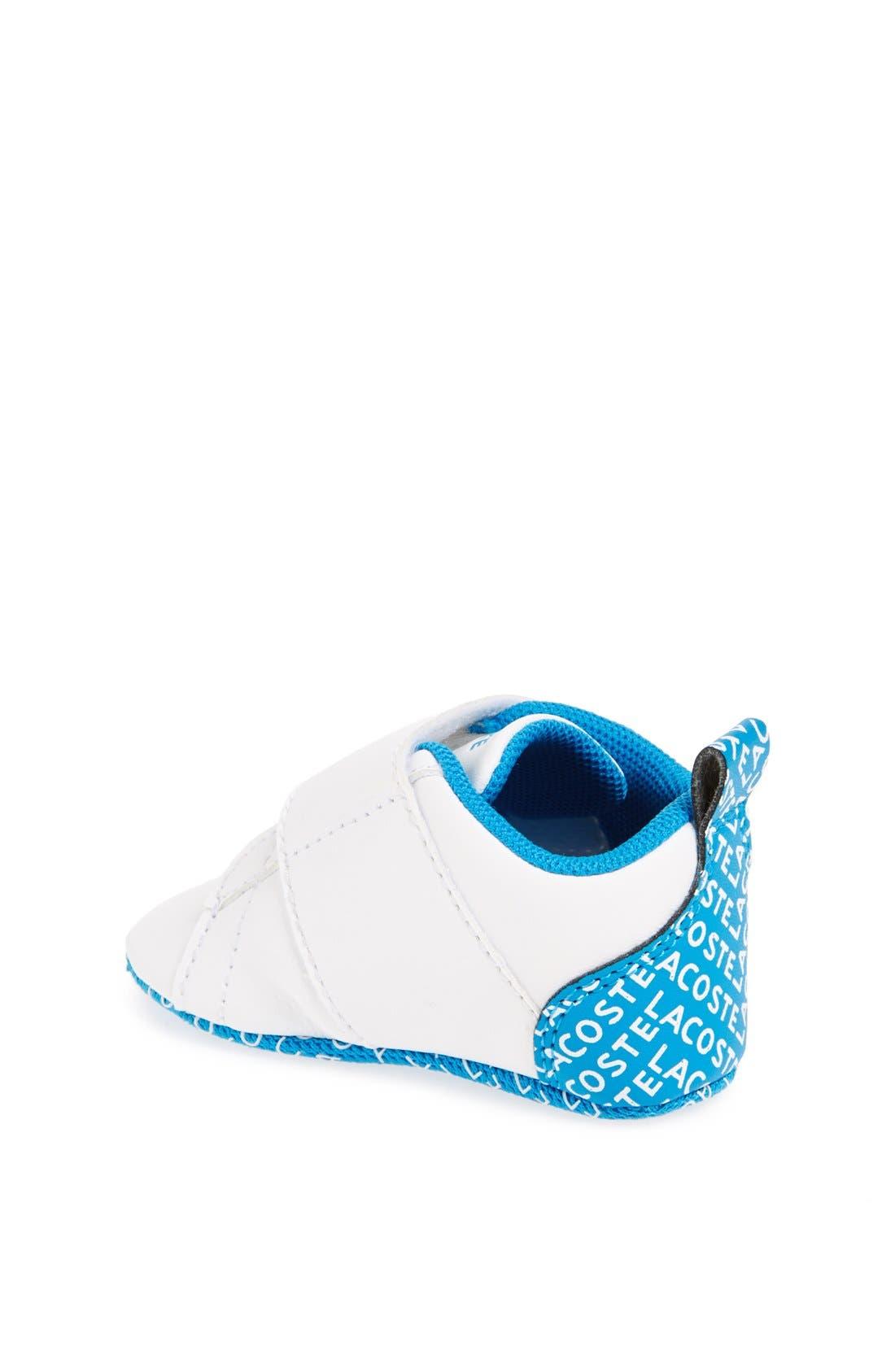 Alternate Image 2  - Lacoste 'Paris Babe' Crib Shoe (Baby)
