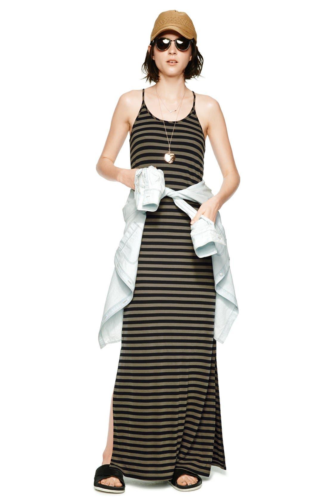 Alternate Image 5  - Hinge® Boyfriend Chambray Shirt