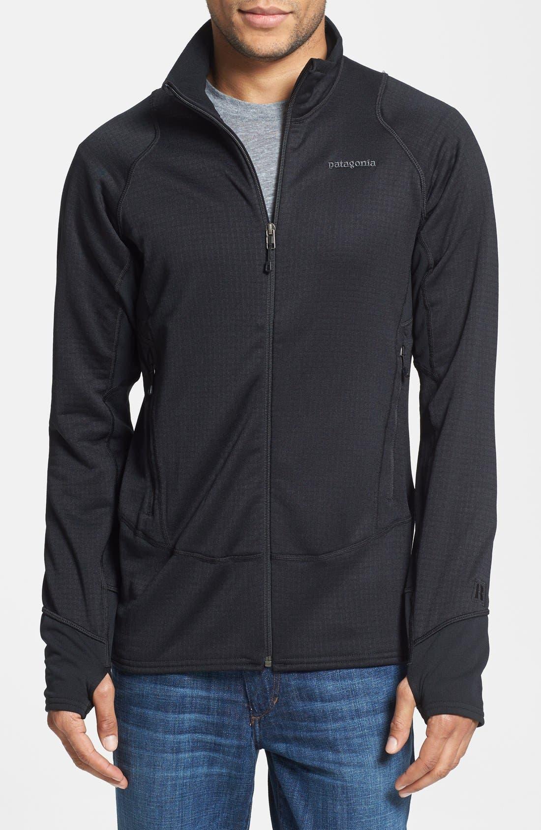 Main Image - Patagonia 'R1®' Slim Fit Full Zip Fleece Jacket