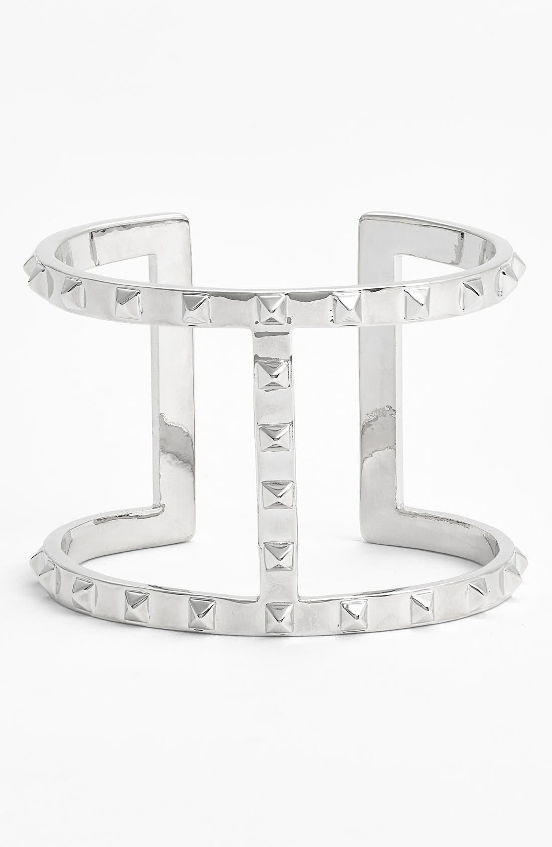 Alternate Image 1 Selected - Vince Camuto Studded Open Cuff (Online Only)
