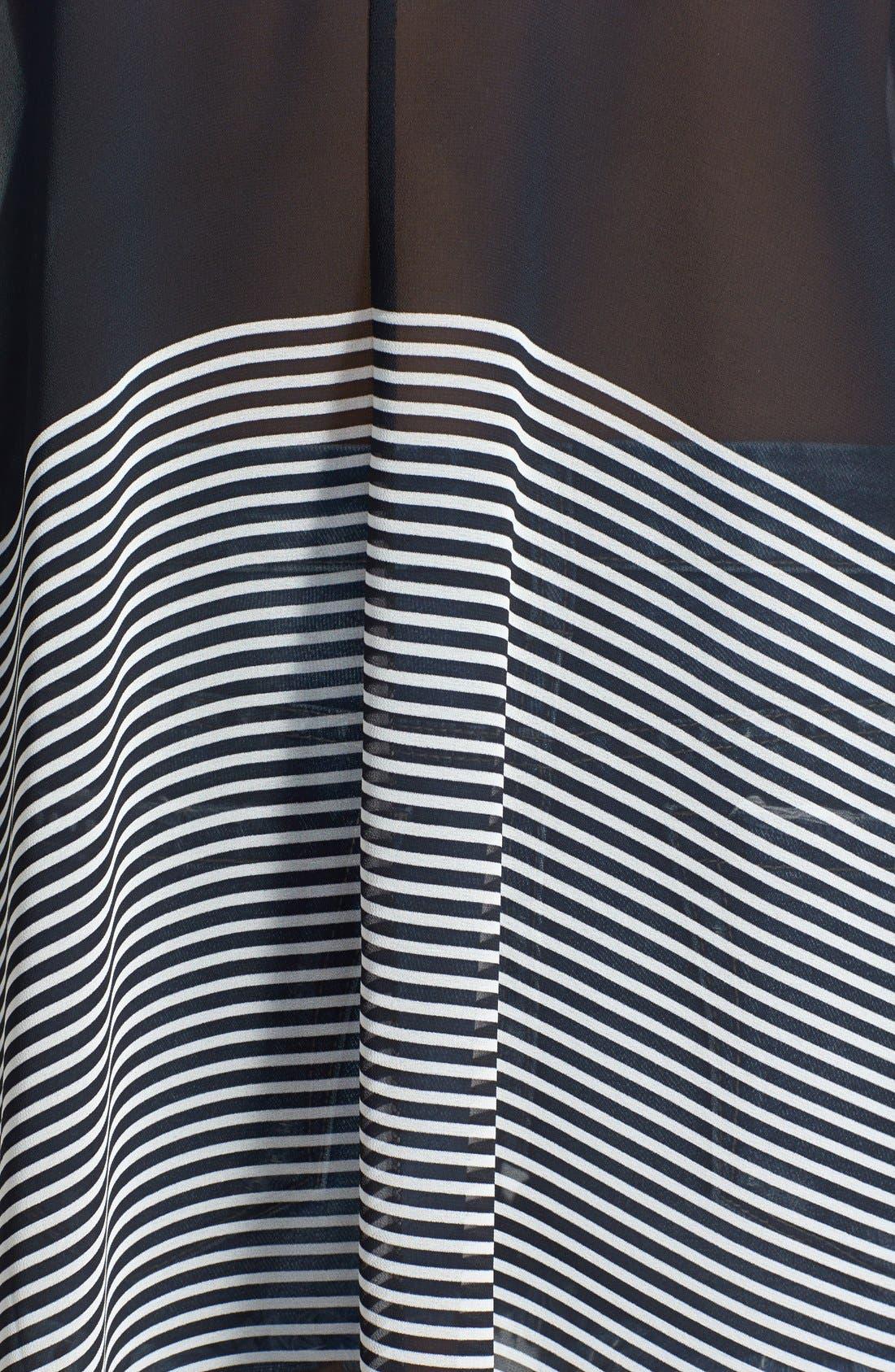 Alternate Image 3  - ASTR Lace-Up Oversized Shift Dress