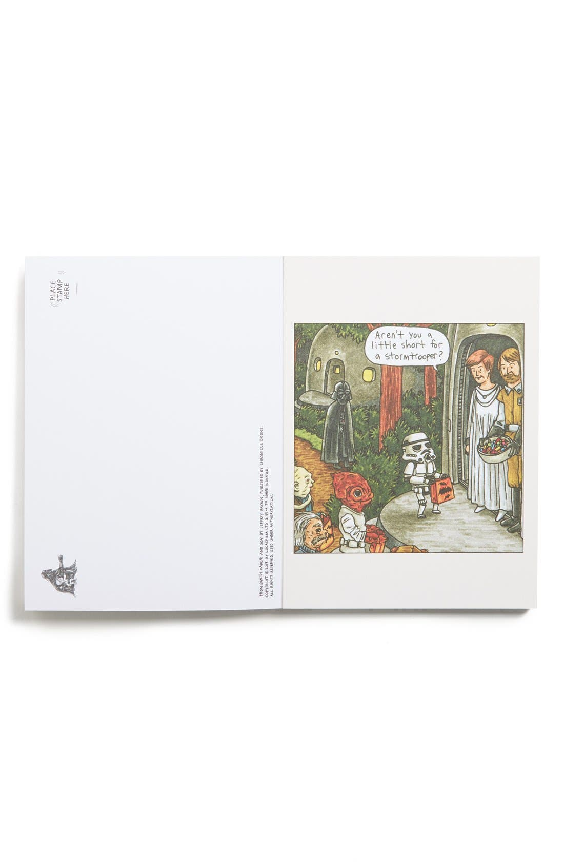 Alternate Image 2  - Chronicle Books 'Darth Vader and Son' Postcards (Set of 30)