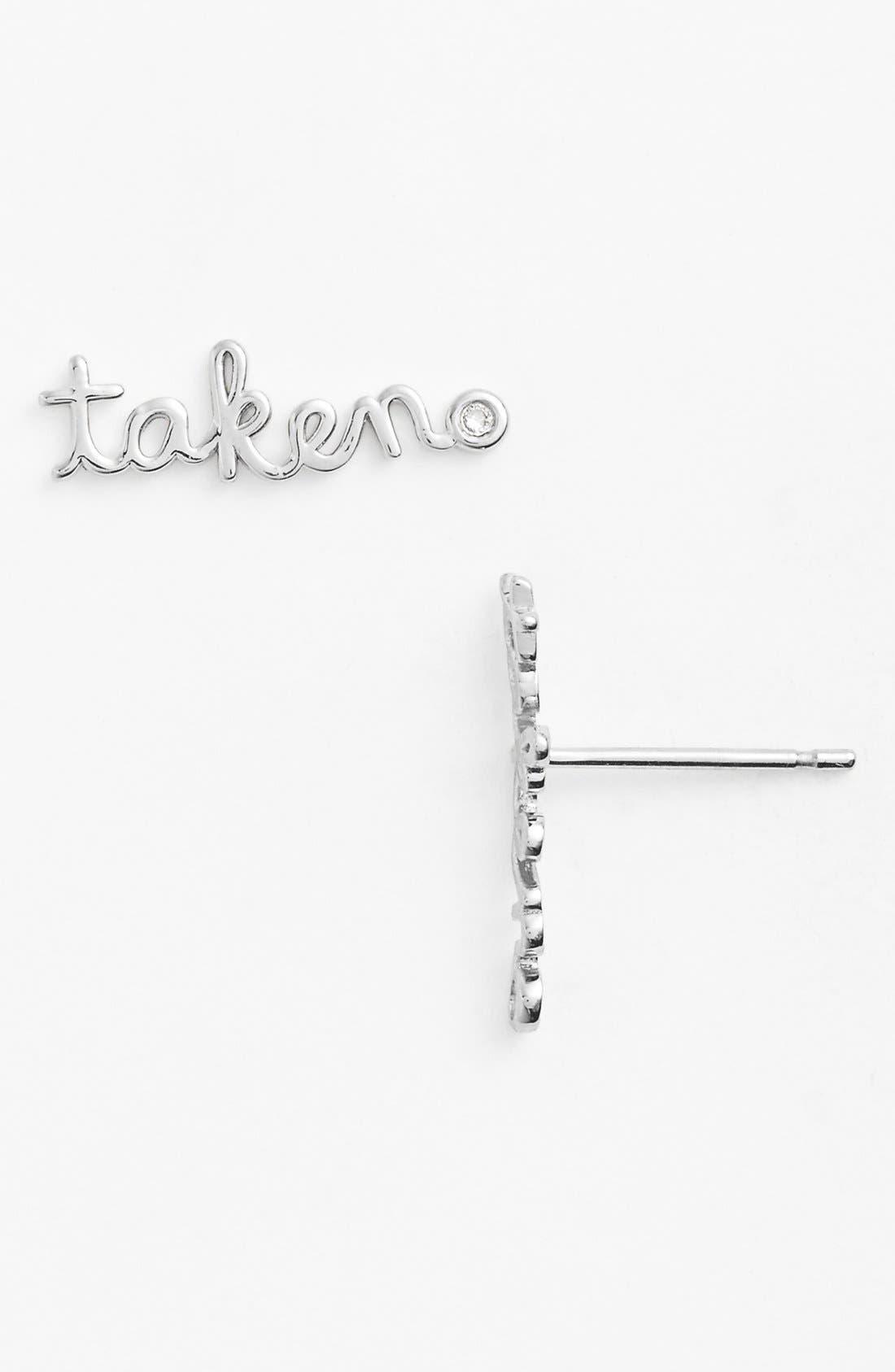 Alternate Image 1 Selected - Shy by SE 'Taken' Earrings