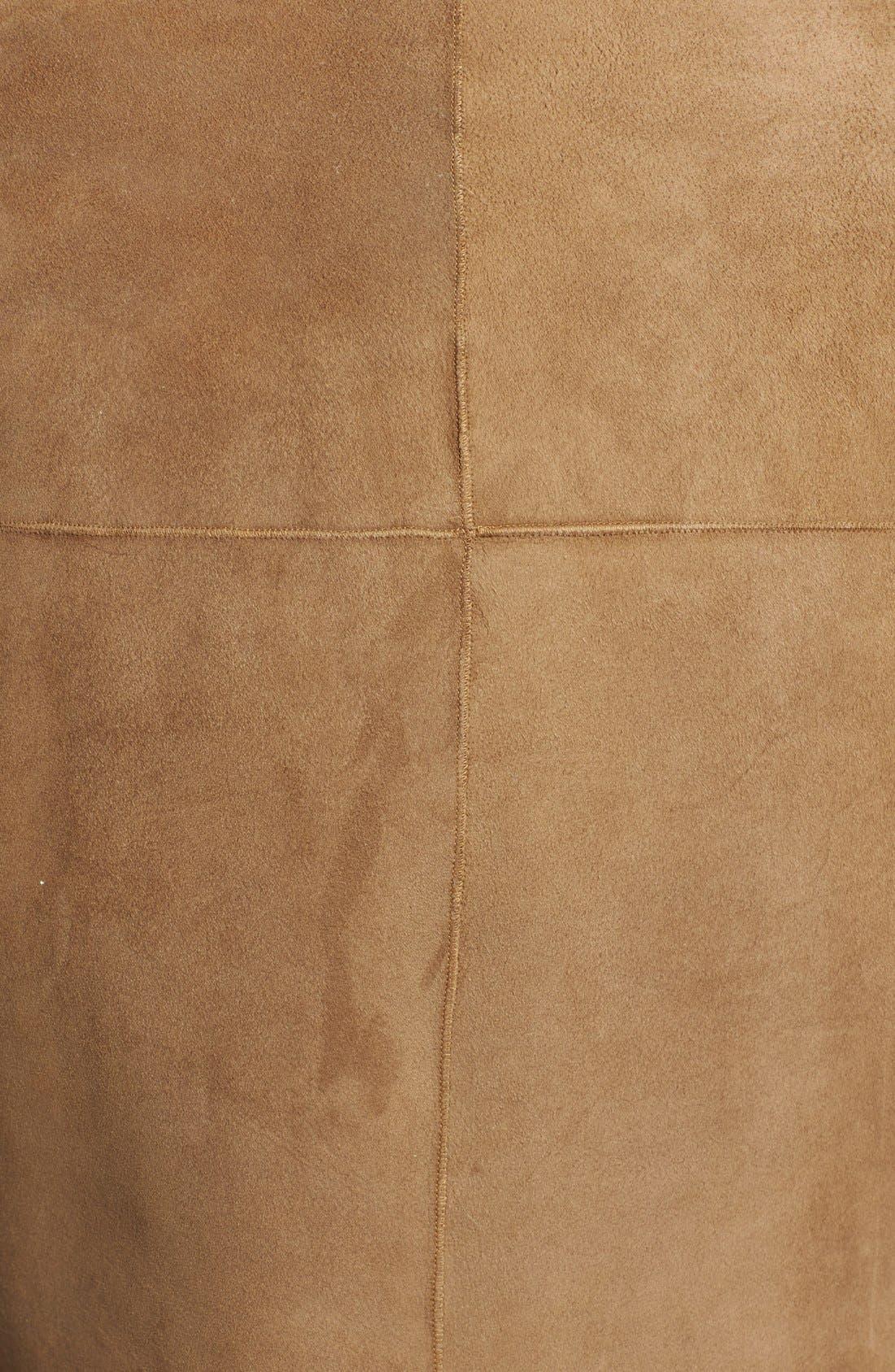 Alternate Image 3  - St. John Collection Genuine Shearling Vest