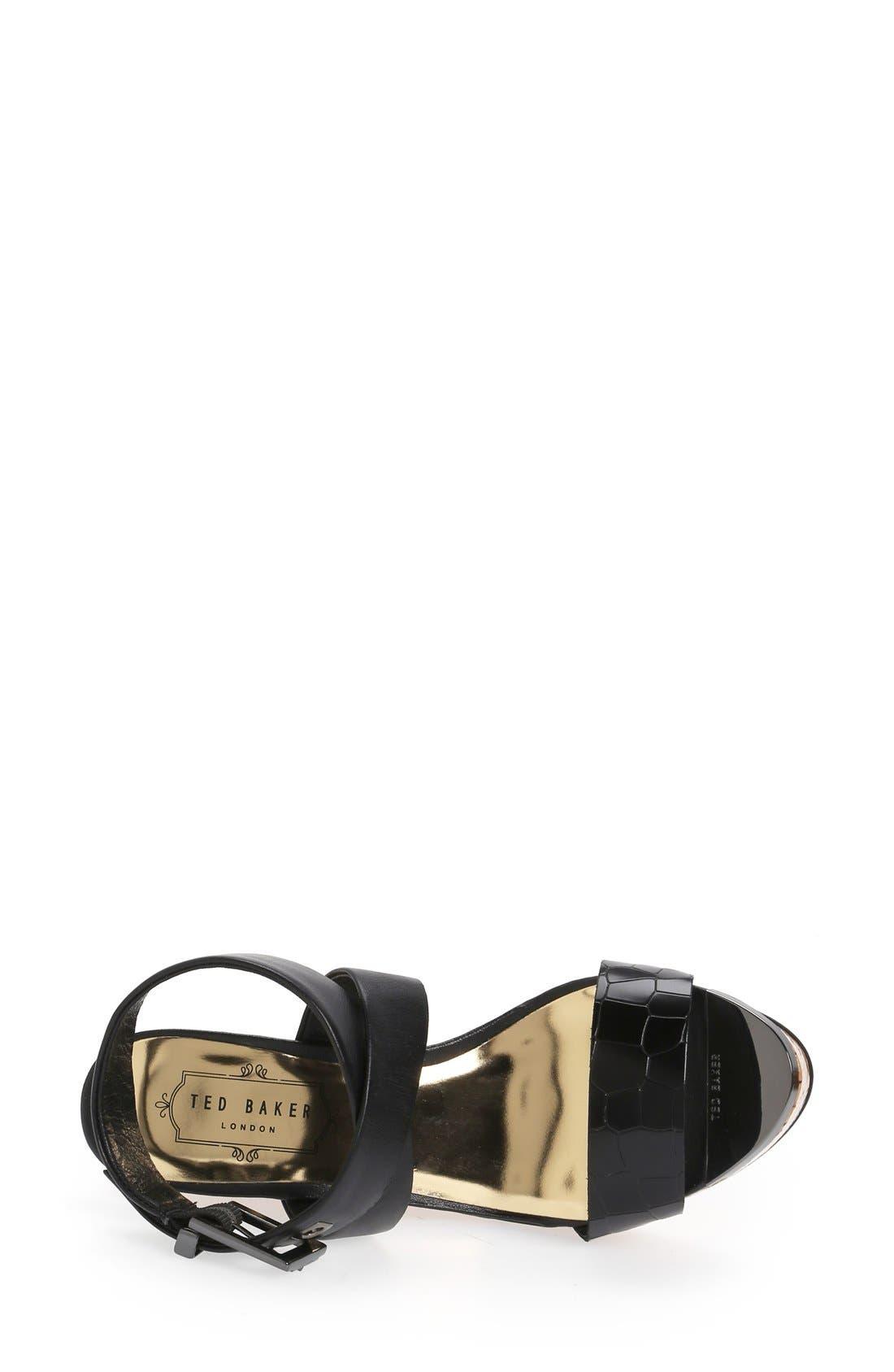 Alternate Image 3  - Ted Baker London 'Oliviaa' Wedge Sandal