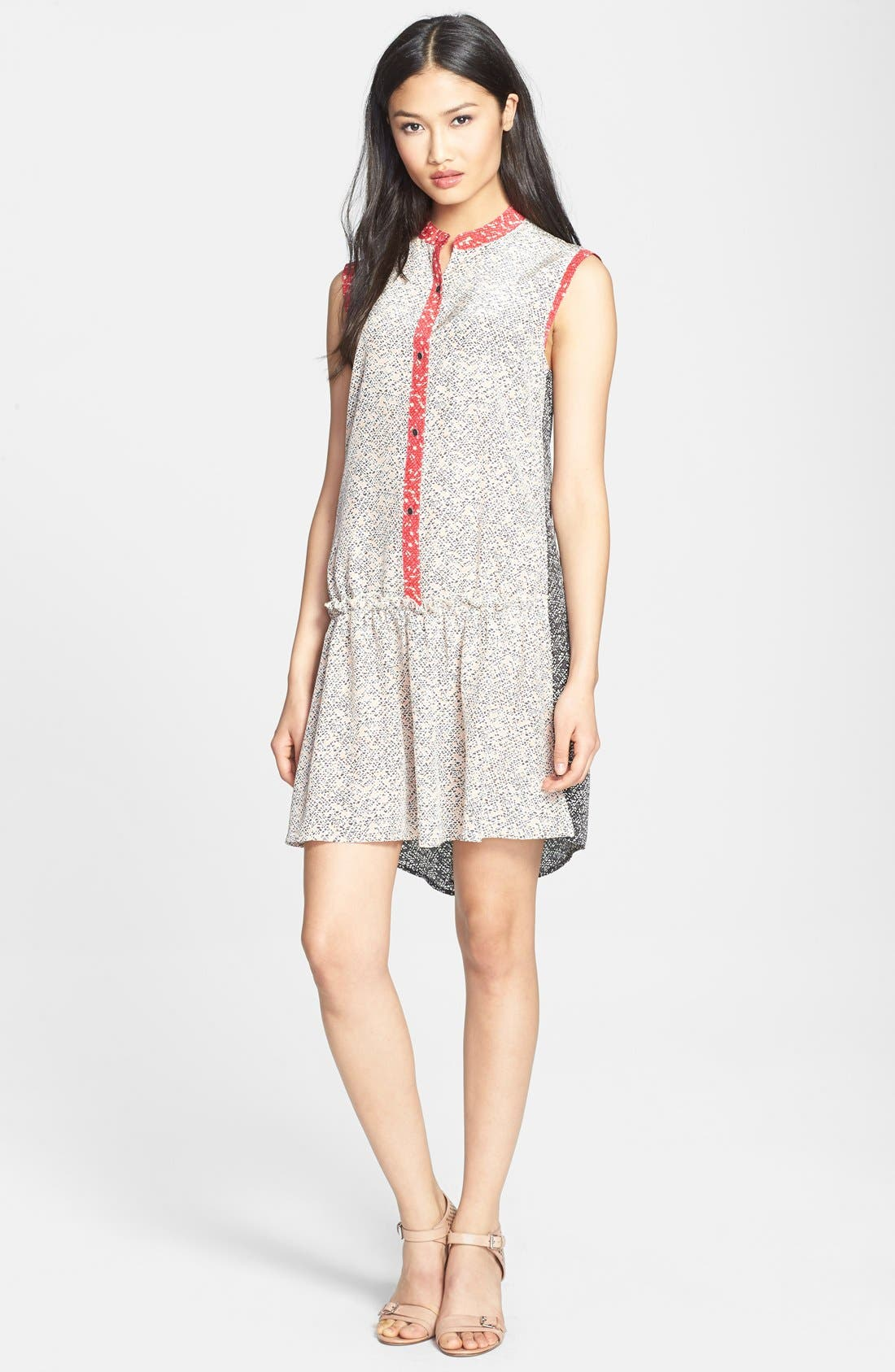 Main Image - MARC BY MARC JACOBS 'Karoo' Print Silk Crêpe de Chine Dress