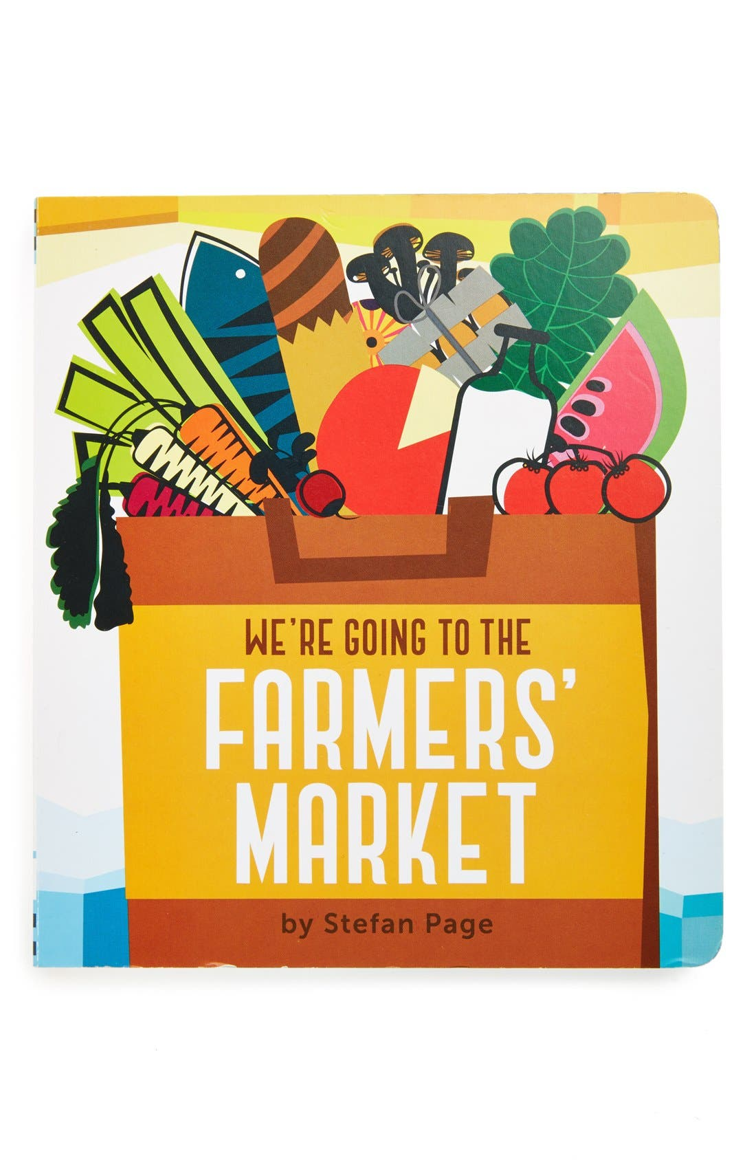 Alternate Image 1 Selected - 'We're Going to the Farmers' Market' Board Book