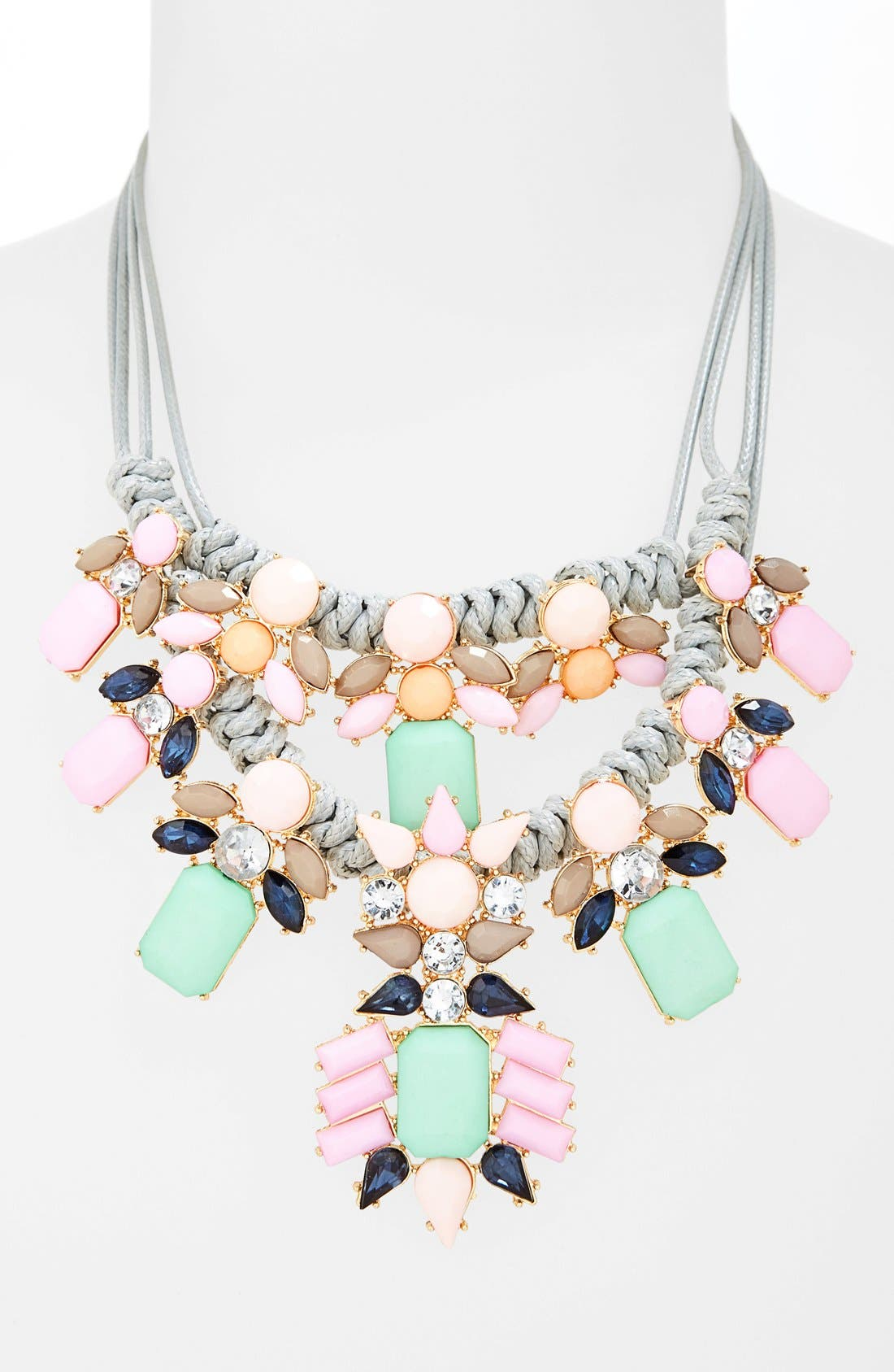 Alternate Image 2  - Cara Crystal Statement Necklace