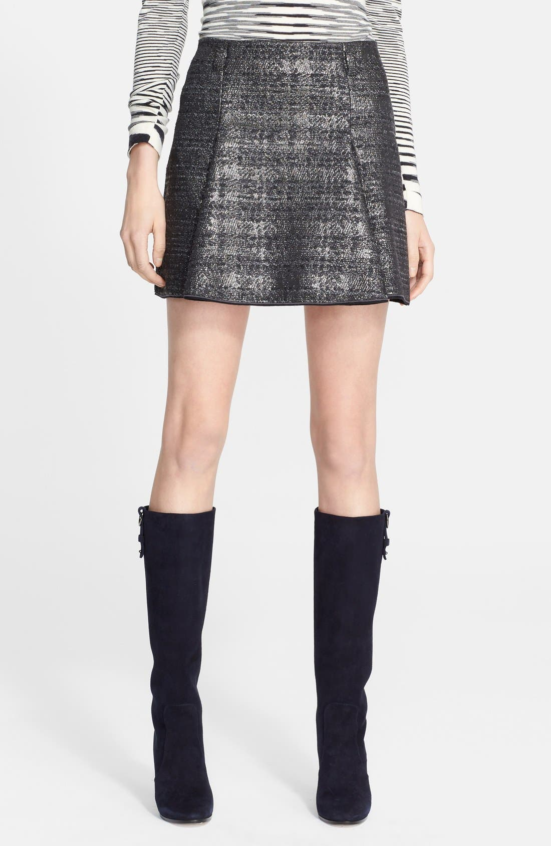 Alternate Image 1 Selected - Missoni Short Box Pleated Skirt