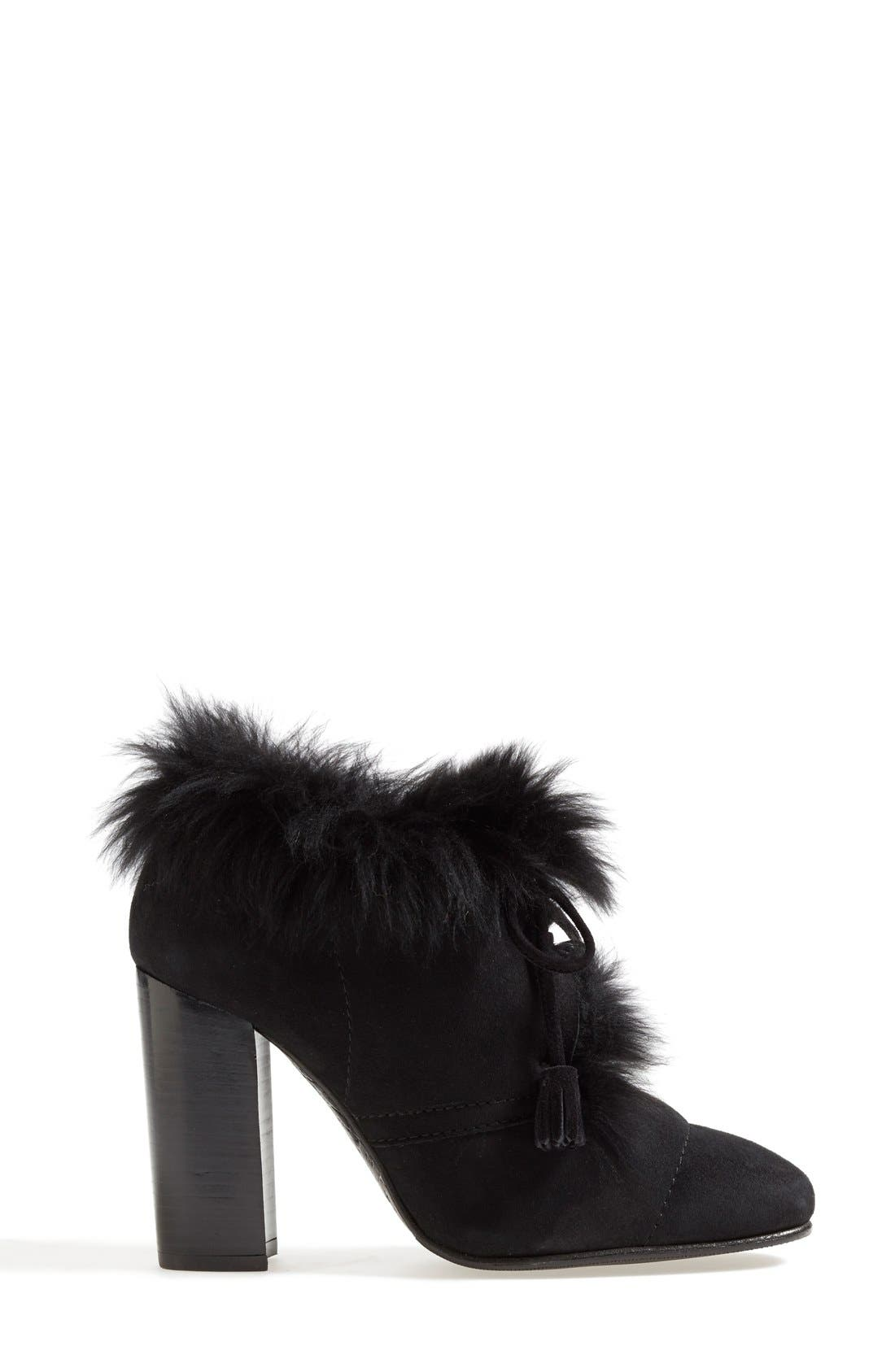 Alternate Image 4  - Pedro Garcia 'Barbara' Genuine Shearling & Leather Bootie (Women)