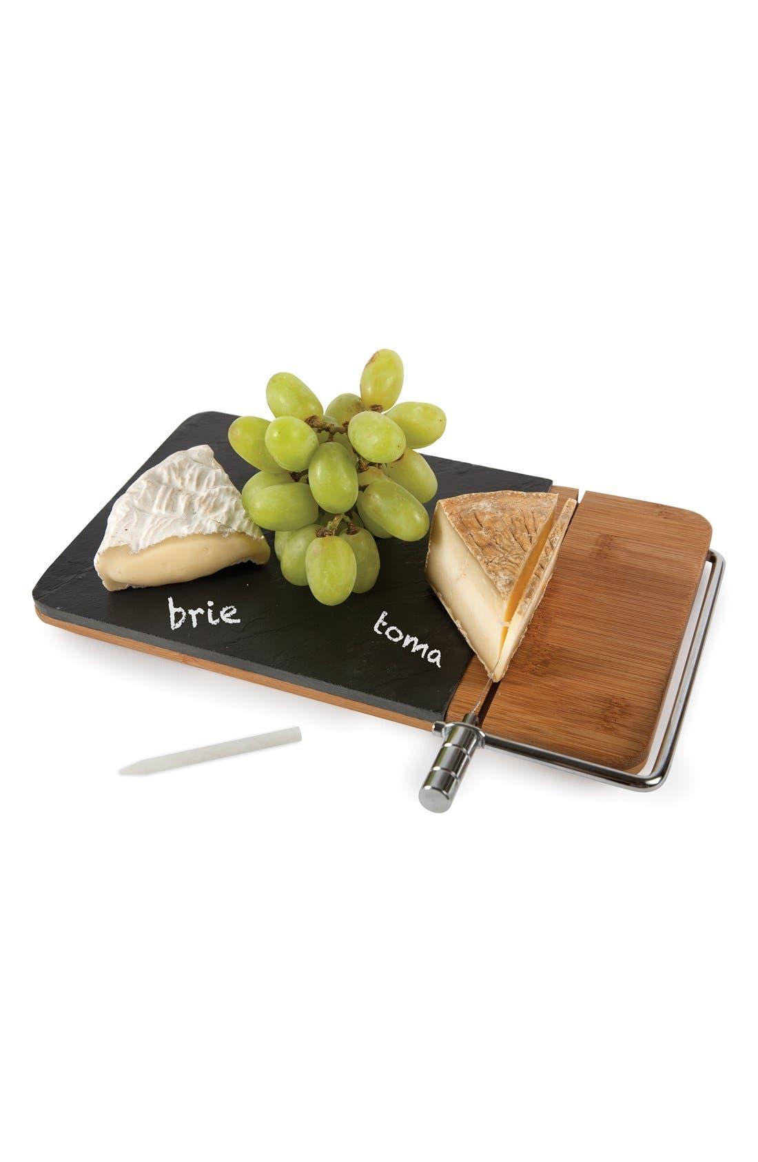 Alternate Image 2  - Core Home Slate & Bamboo Cheese Board